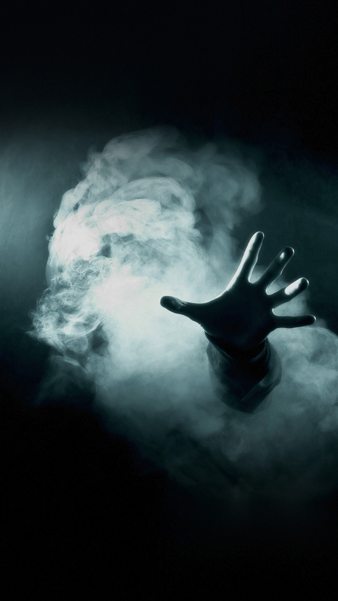 1080x1920 Hand Reaching Out From Smoke Horror IPhone 6 HD Wallpaper