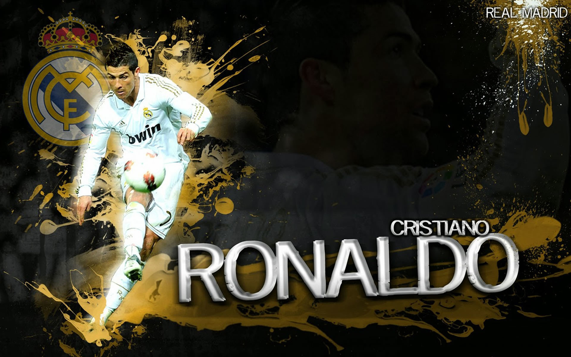 1920x1200 Cristiano Ronaldo Wallpaper Real Madrid 2015