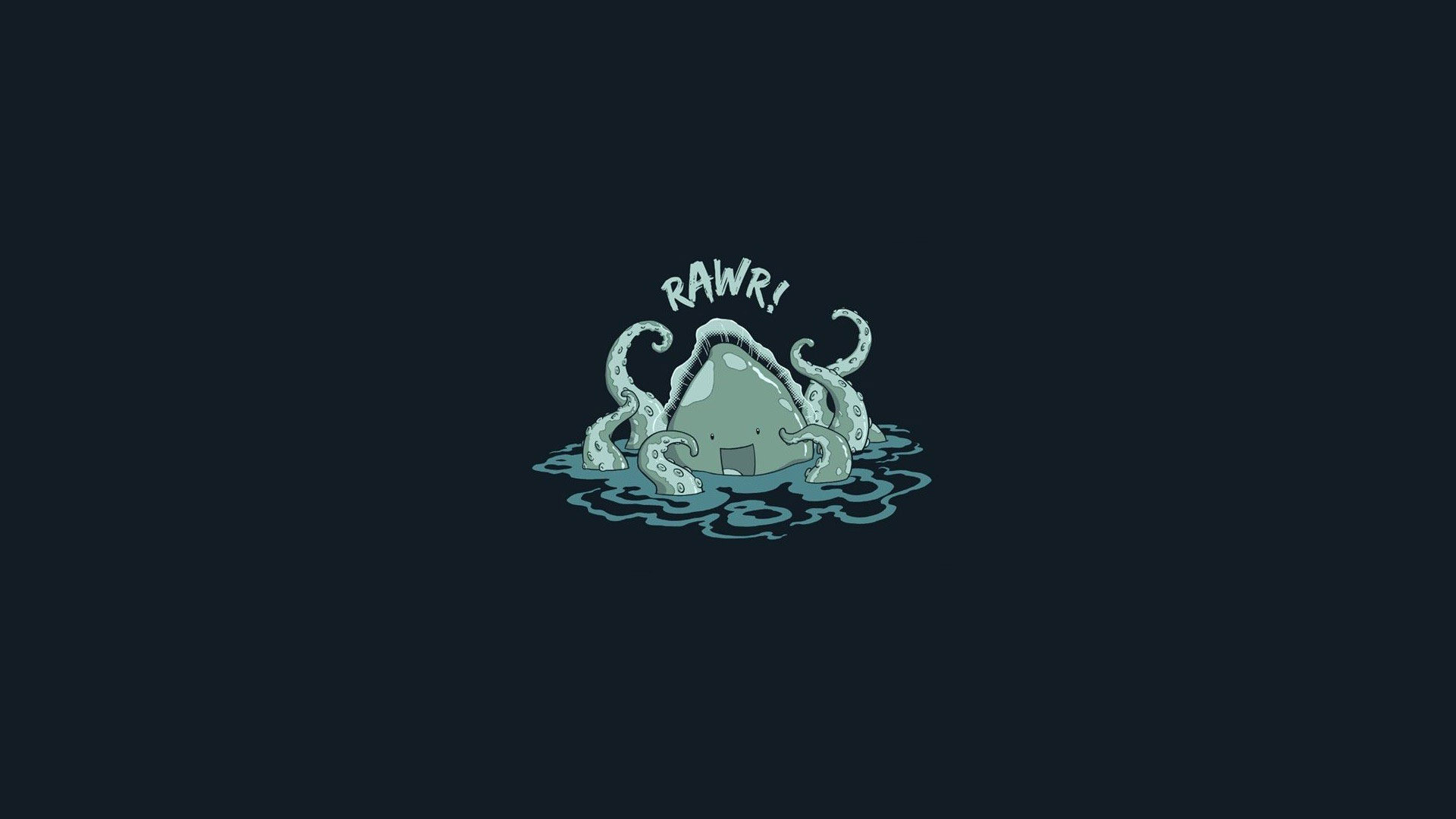1920x1080 Cute Octopus Hd Wallpaper
