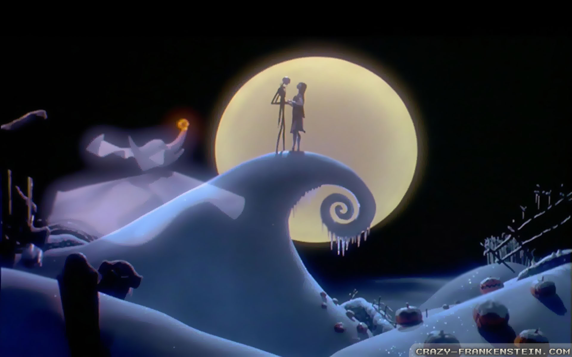 1920x1200 ... free nightmare before christmas backgrounds wizard ...