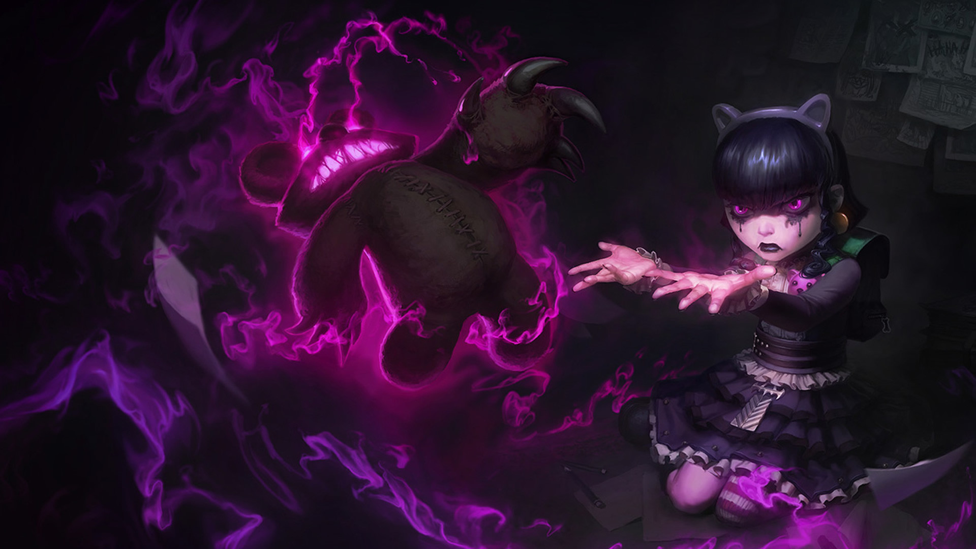 Purple Goth Wallpapers 62 Images