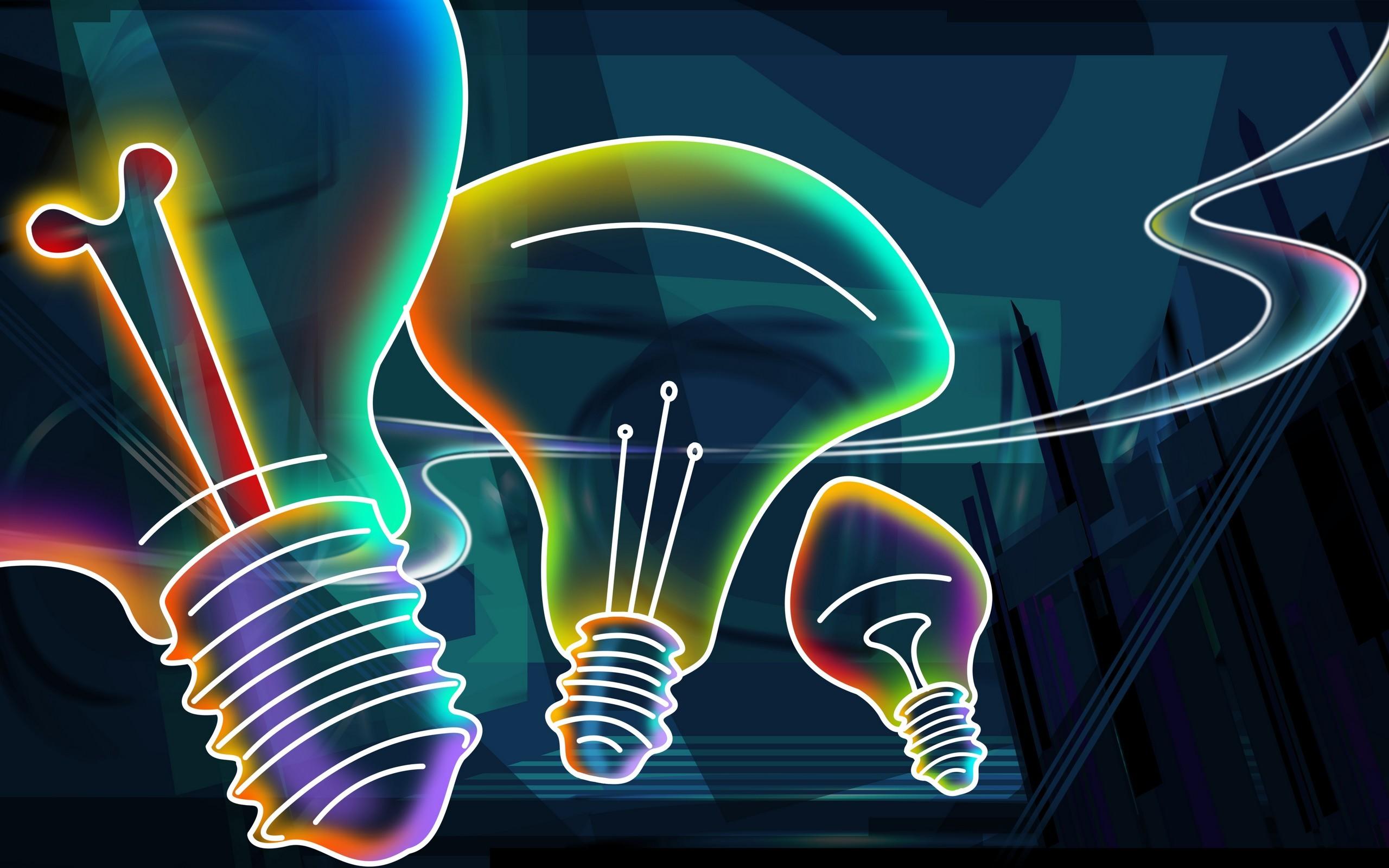 1920x1080 Neon Lights Surface Technology Desktop Background Wallpaper 1080p