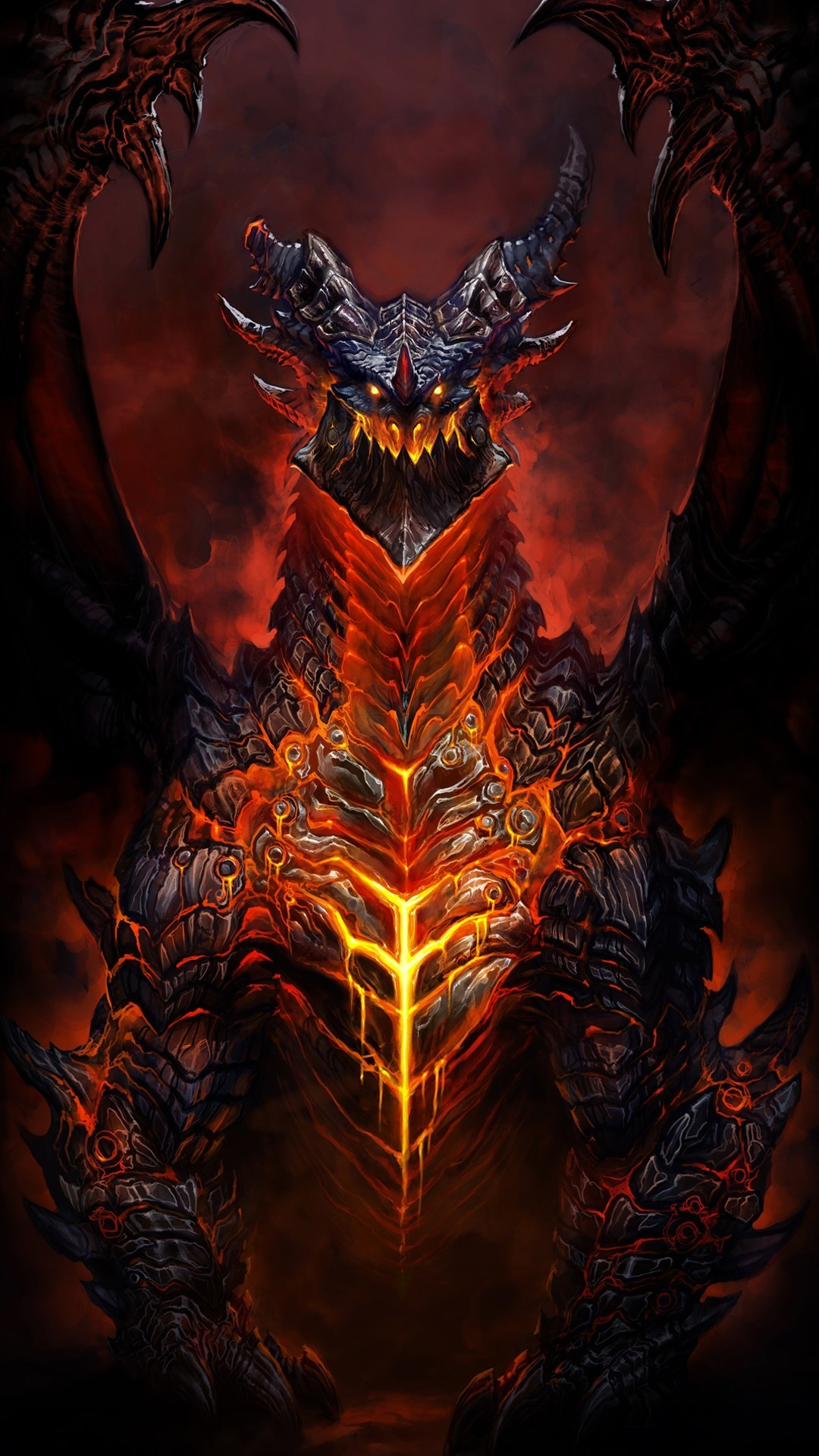 1080x1920 Deathwing World Of Warcraft Game IPhone 6+ HD Wallpaper
