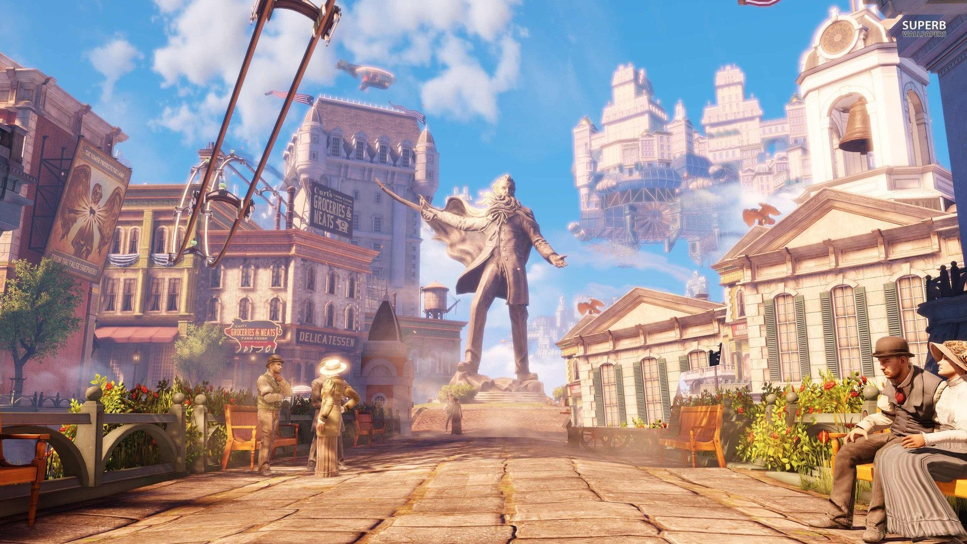 1920x1080 Games Wallpaper Bioshock Infinite HD Resolution For