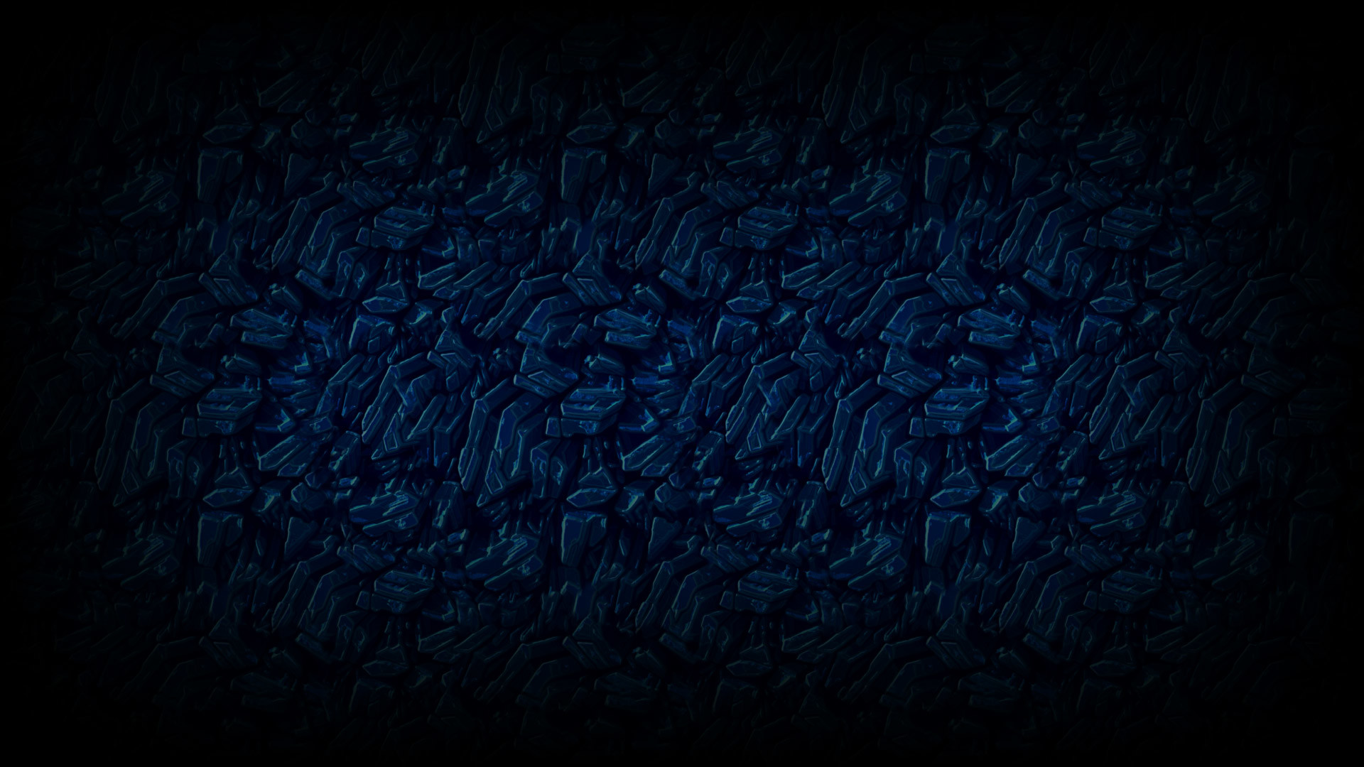 1920x1080 Blue Crystal - Darkout Uncommon Profile Background MARKET .