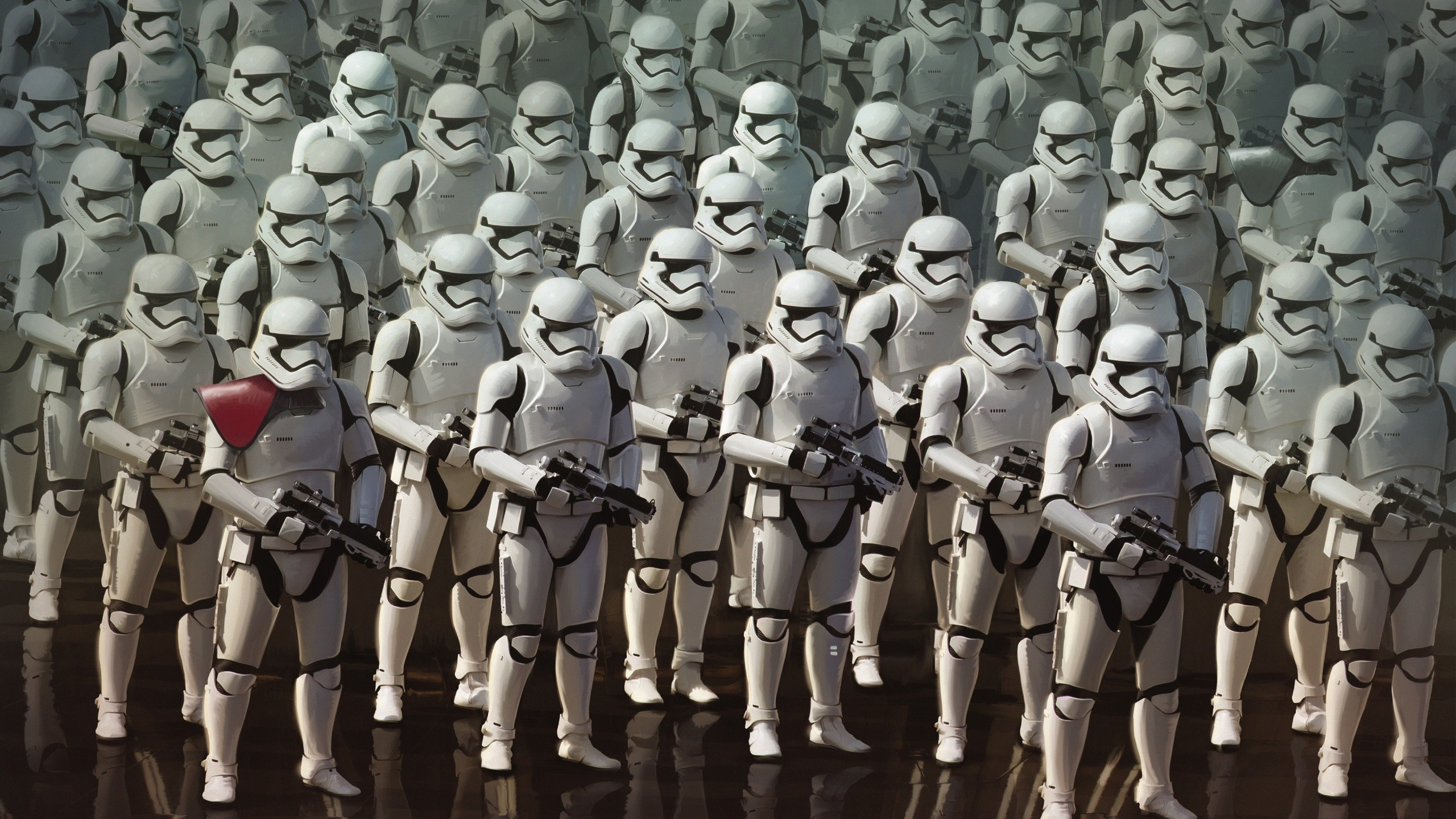 2560x1440 Star Wars The Force Awakens Stormtroopers Wallpapers