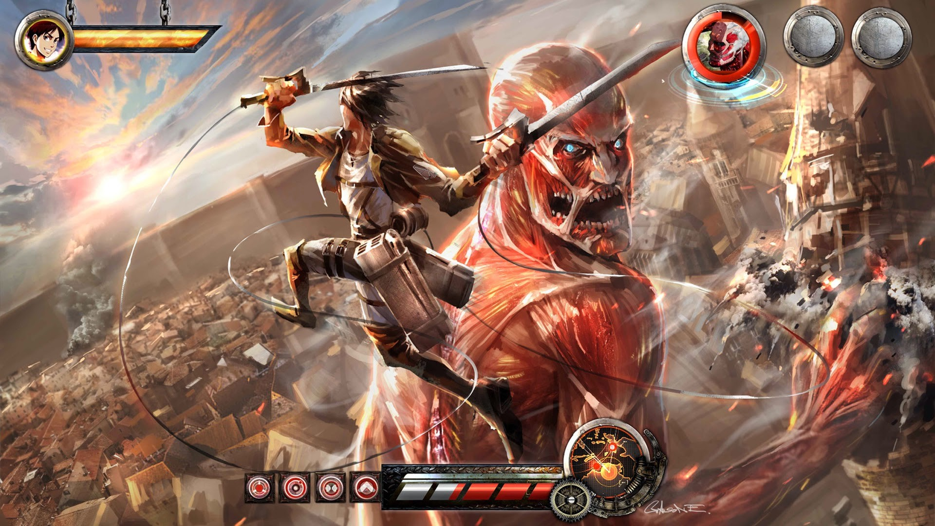 Attack On Titan Wallpaper Hd 64 Images