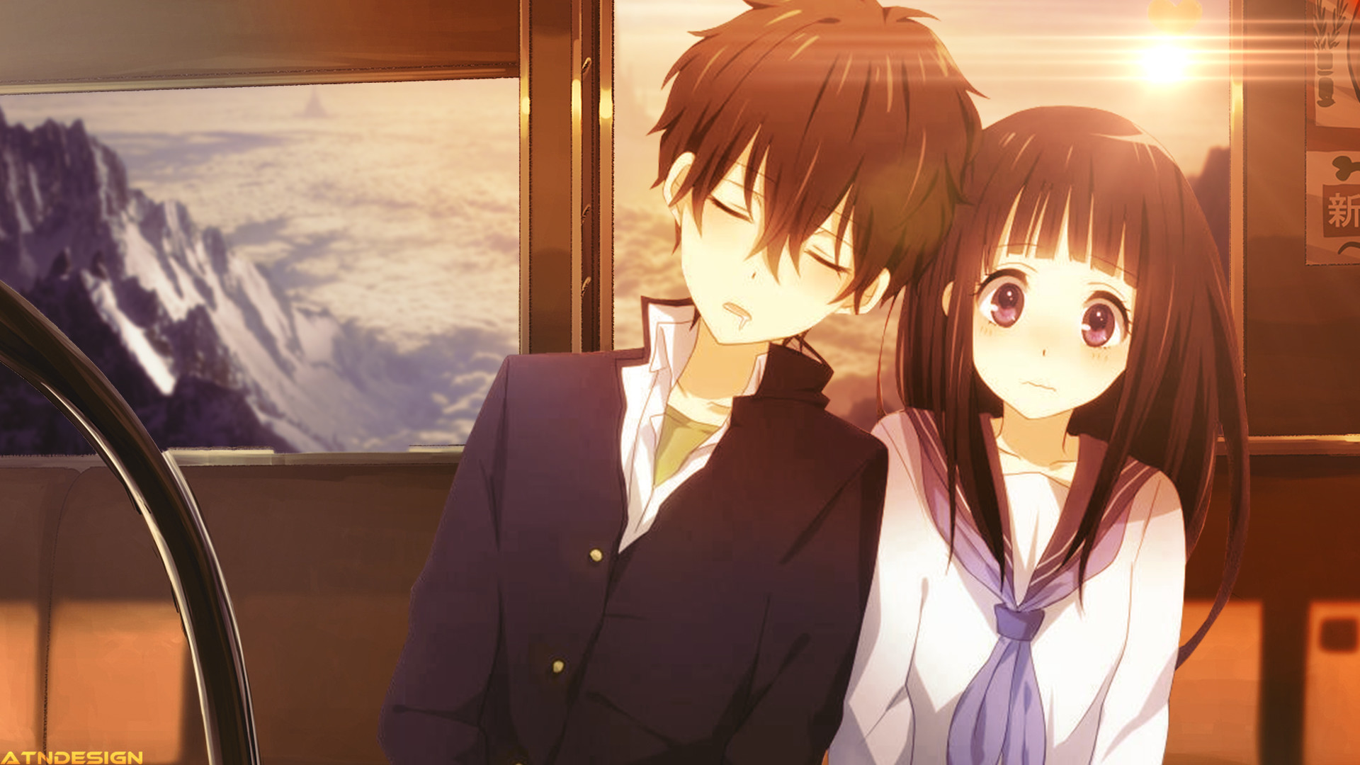 Cute anime couple wallpaper 70 images 1920x1080 cute anime couples altavistaventures Image collections