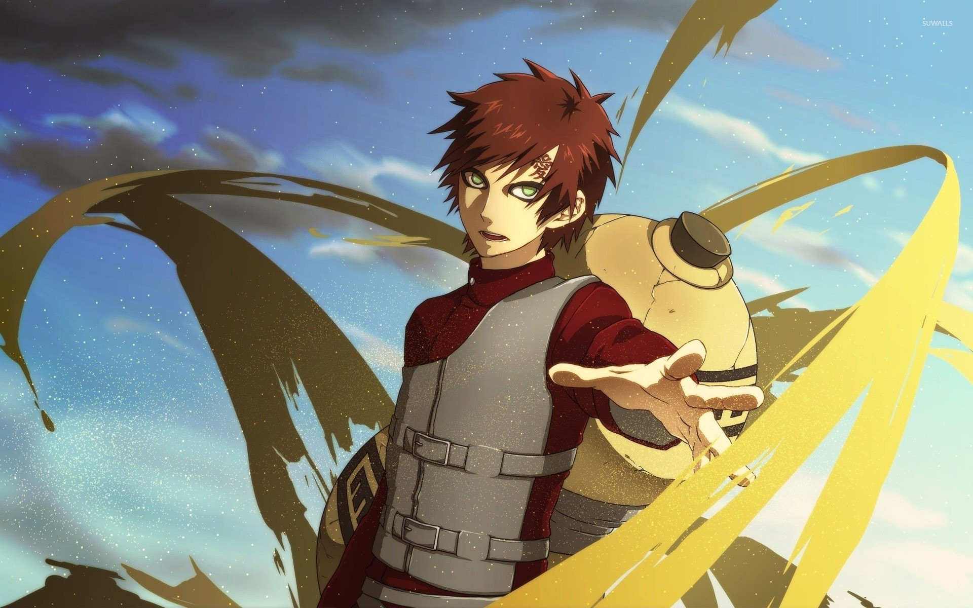 1920x1200 Gaara - Naruto [2] wallpaper