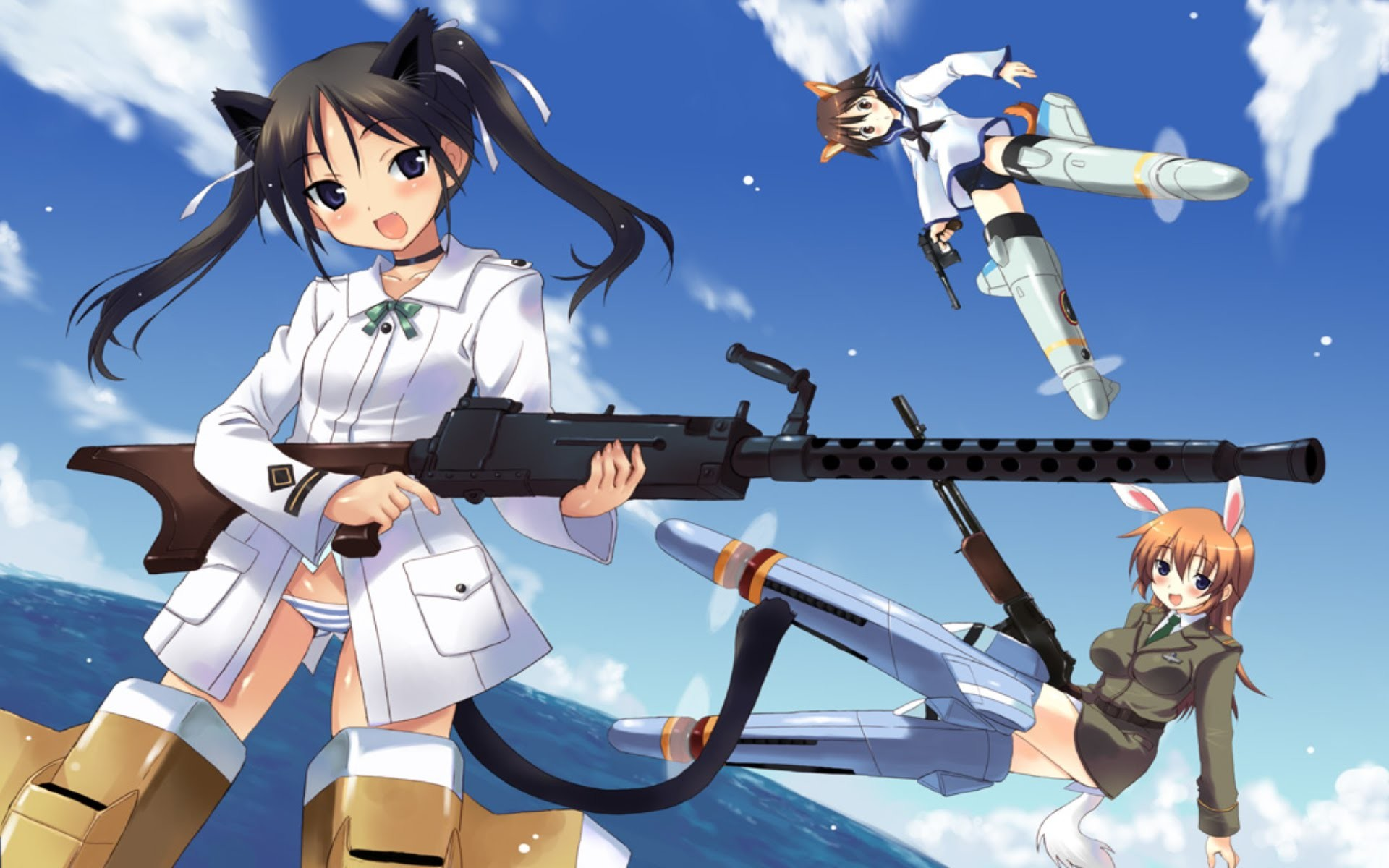 1920x1200 List of Strike Witches characters - Wikipedia ...