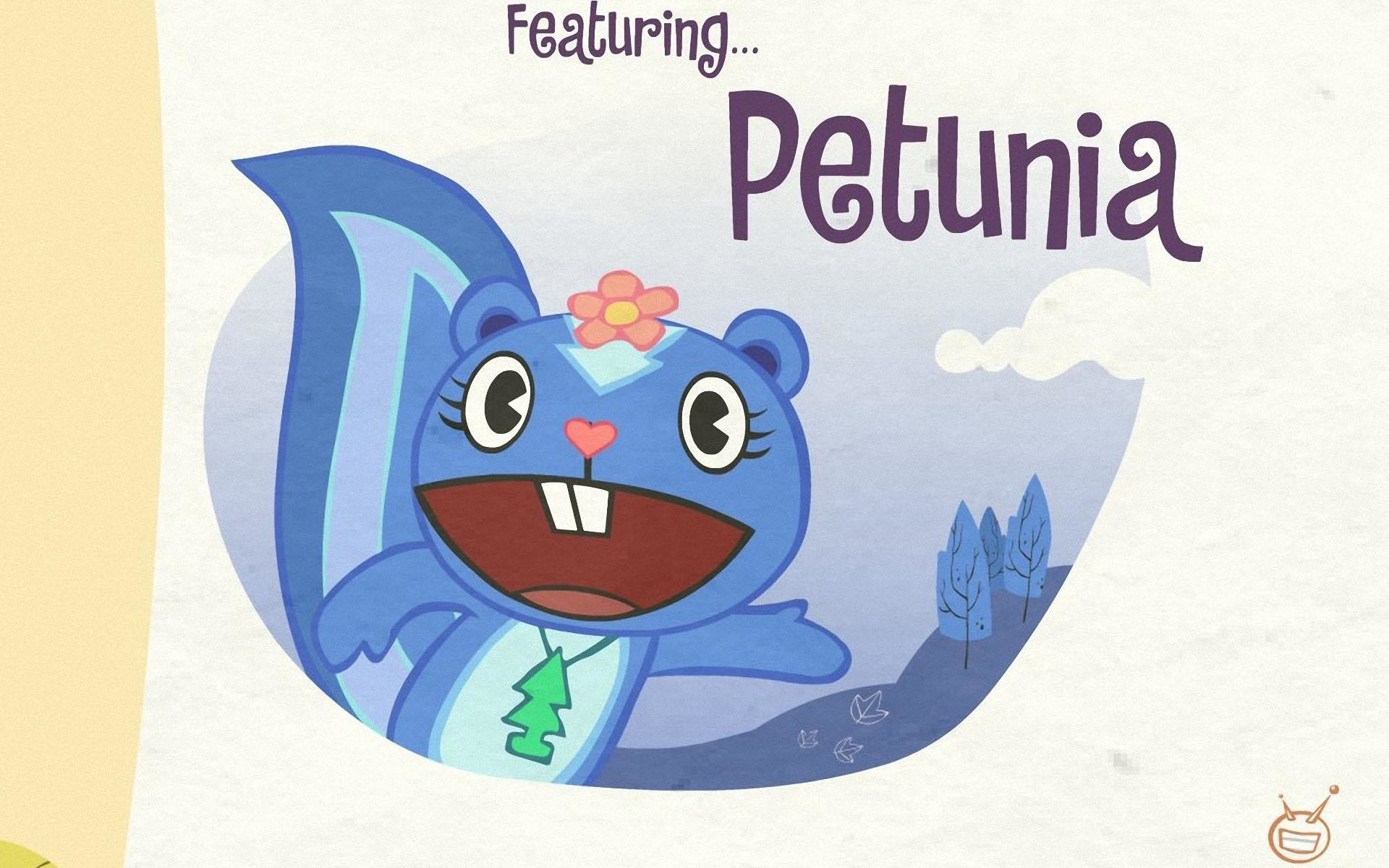 1920x1200 HD Wallpapers Petunia - Happy Tree Friends 2011