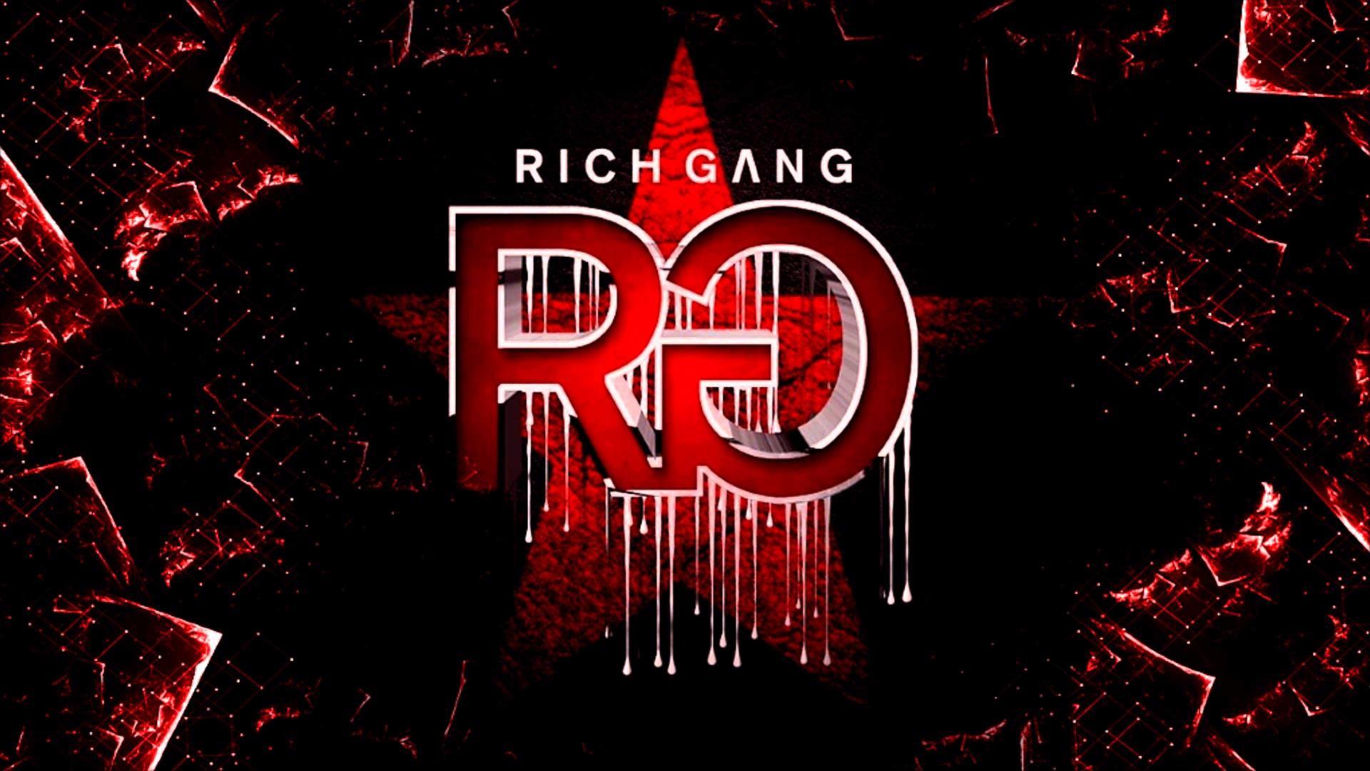 1920x1080 Rich Gang Logo Wallpaper Album Cover