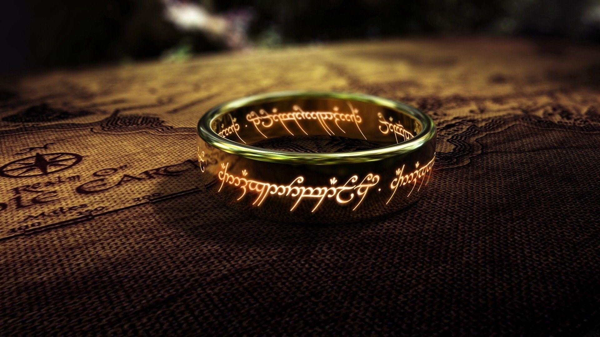 1920x1080 One Ring - The Lord of The Rings Wallpaper #