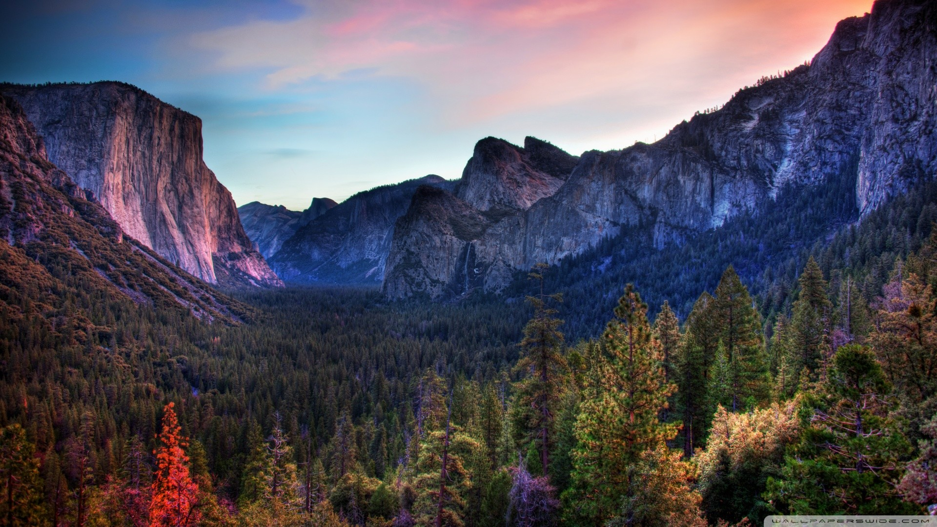 1920x1080 HD Yosemite Wallpaper