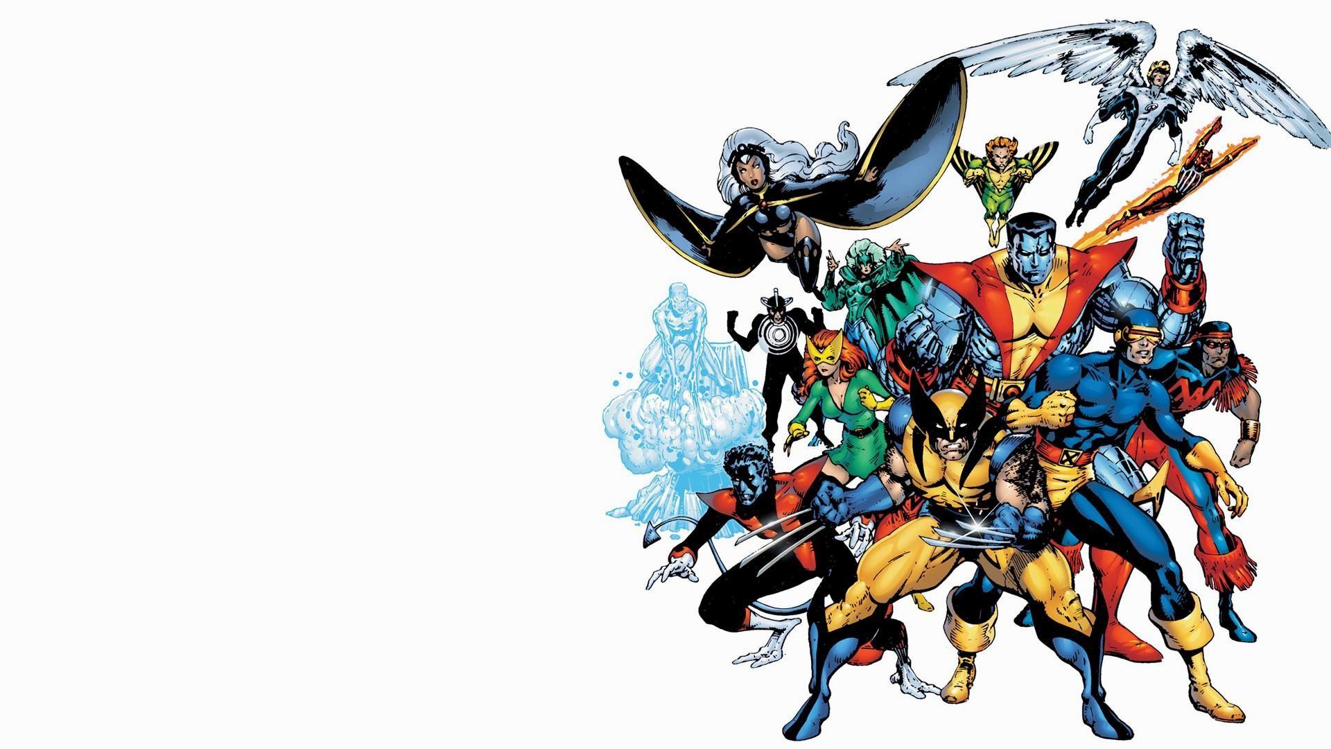 Group of X Men Widescreen
