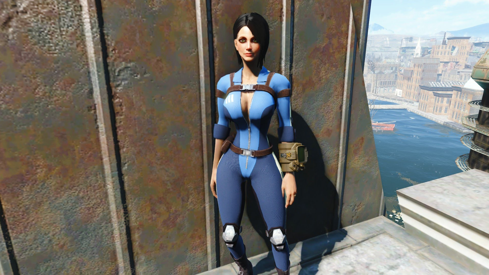 "1920x1080 Fallout 4: Mod Review #8 ""Slooty Vault Suit"" (Xbox One Mods)"