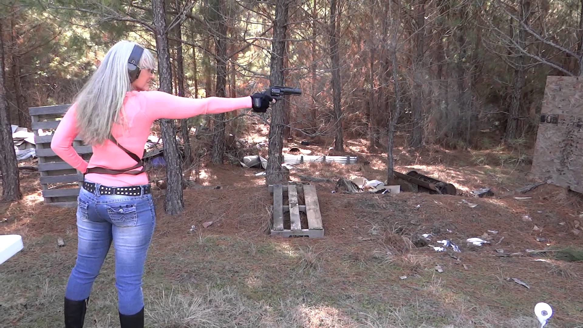 1920x1080 M&P R8 .357 Performance Center S&W Texas one handed Teri LaFaye/The Pistol  Poet - YouTube