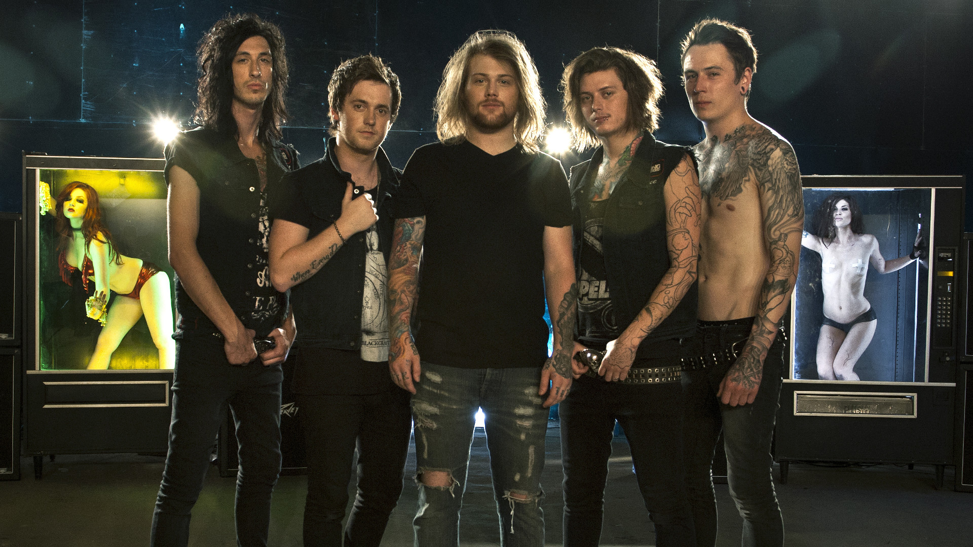 "1920x1080 Image for Asking Alexandria Have Already Recorded ""Amazing"" New Music With  OG Frontman Danny"
