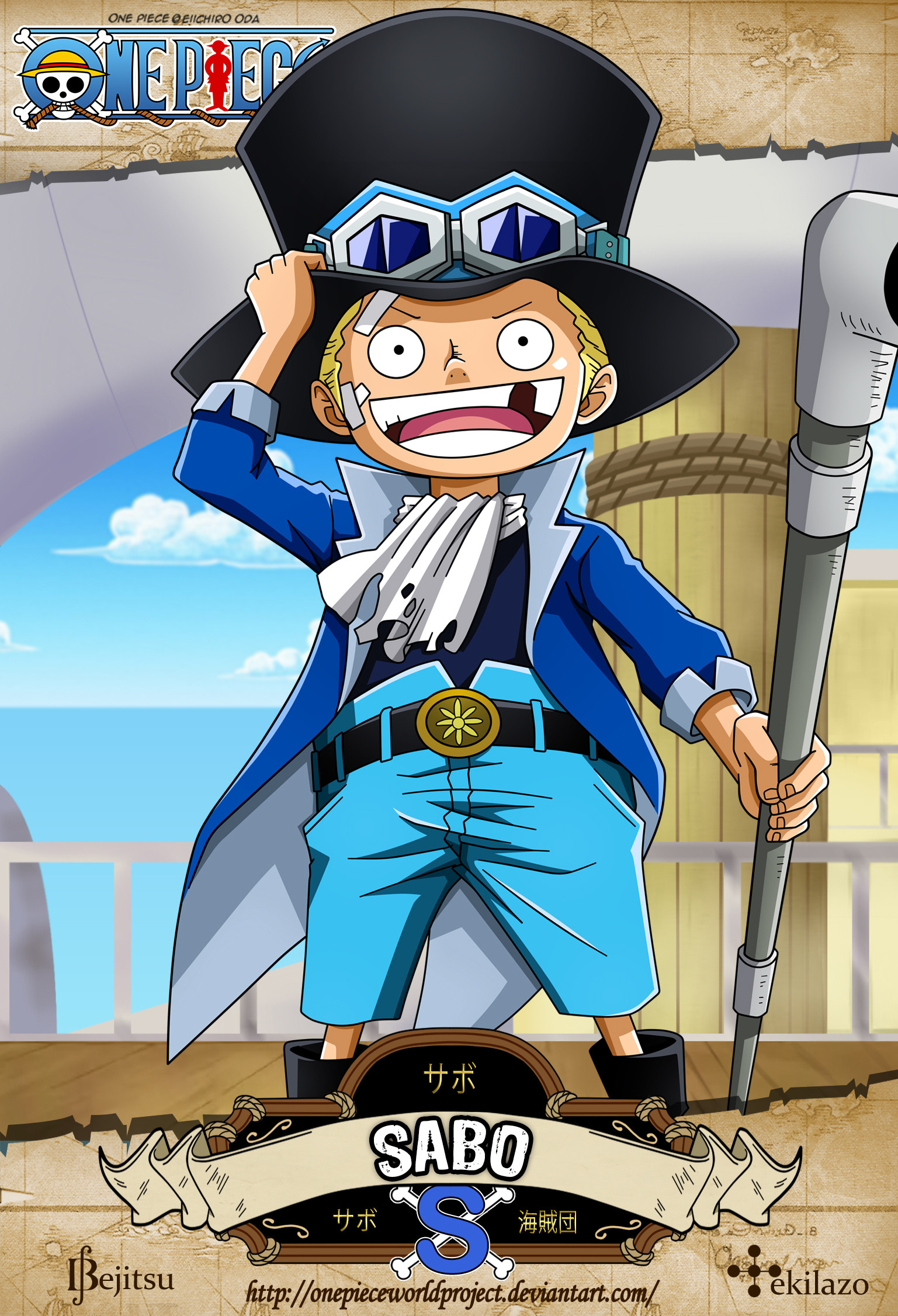 1537x2252 One Piece - Sabo by OnePieceWorldProject One Piece - Sabo by  OnePieceWorldProject