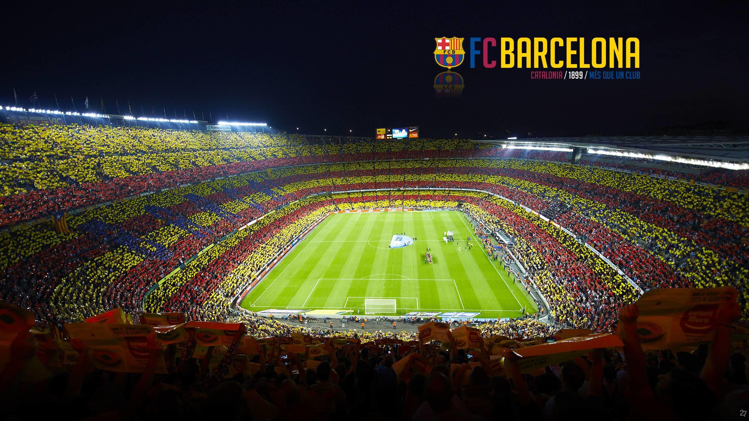 Fc Barcelona Camp Nou Soccer Clubs Soccer Wallpapers Hd: Fc Barcelona Wallpaper HD 2018 (68+ Images