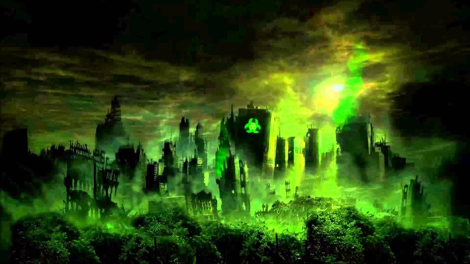 green biohazard wallpaper (60+ images)