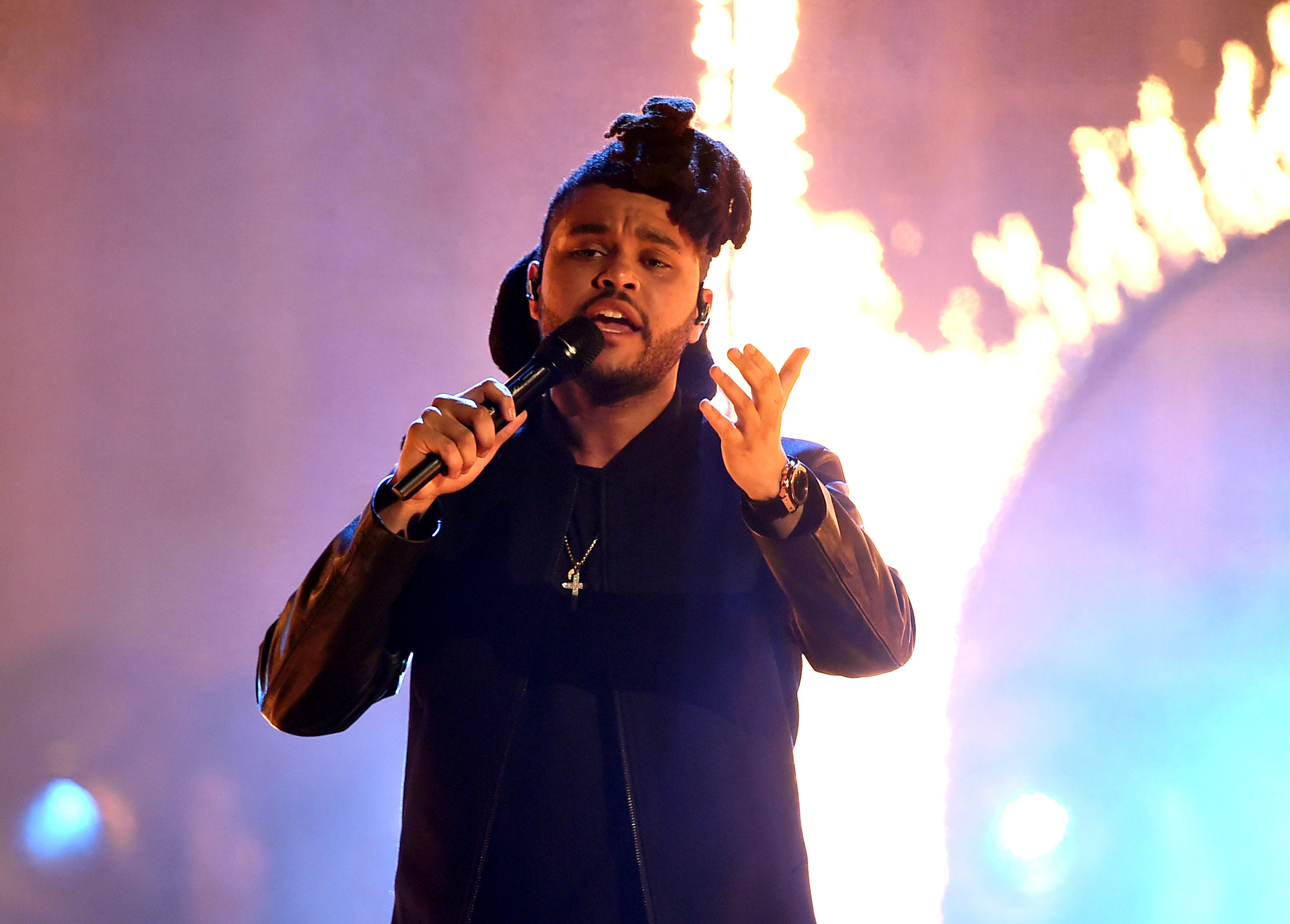 3000x2149 The Weeknd Performing Wallpaper 60123