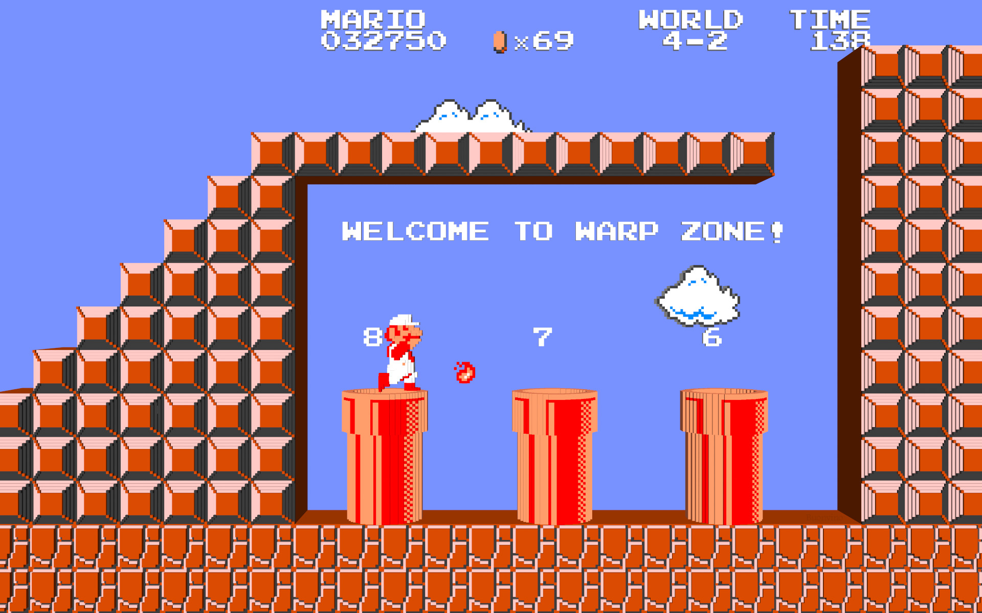 Super Mario Bros Nes Wallpaper 70 Images