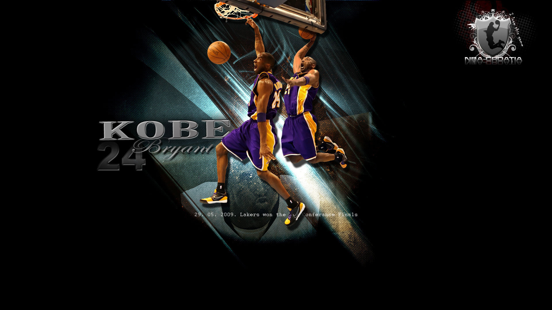 1920x1080 Free Hd Desktop Wallpapers Lakers