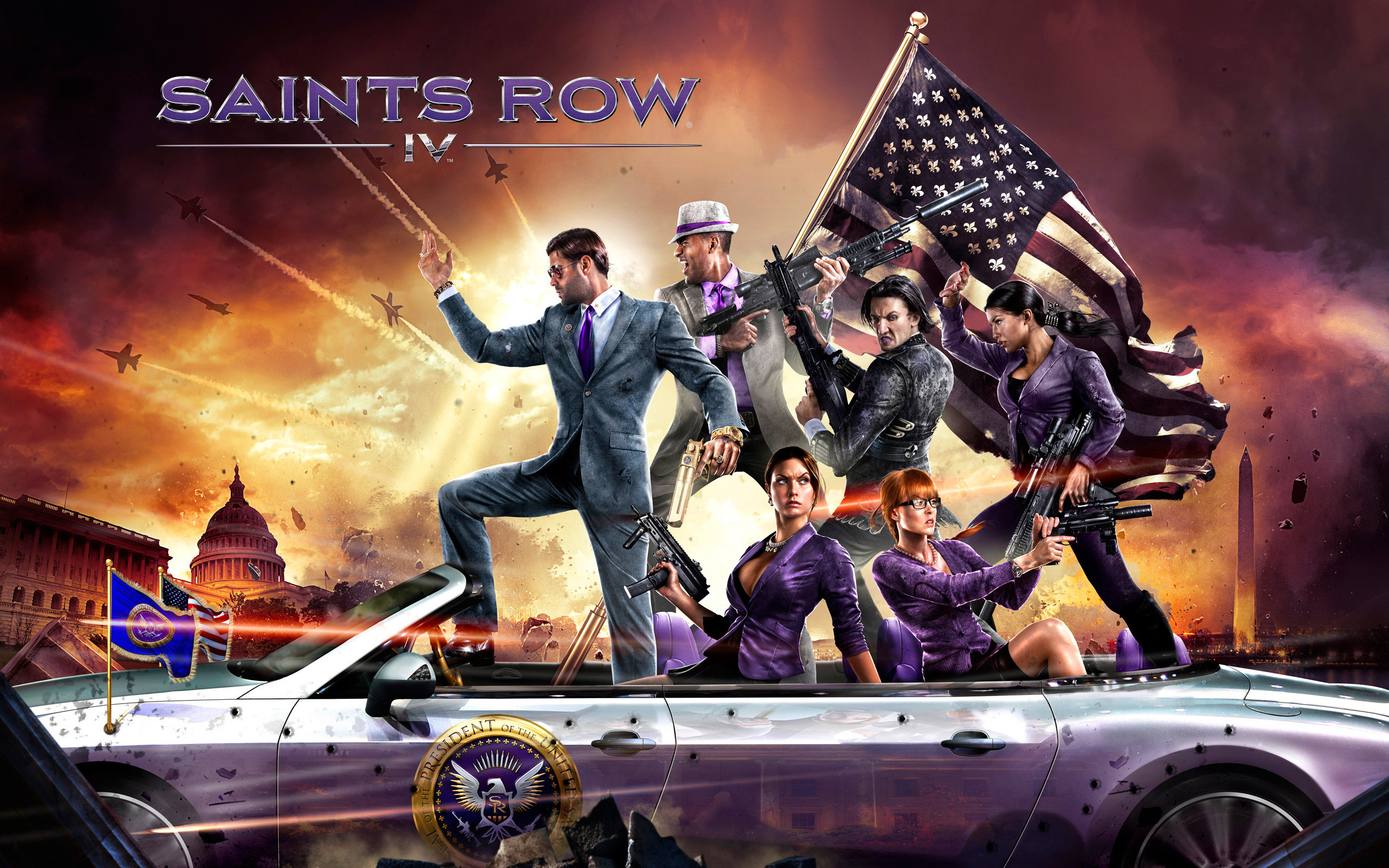 2560x1600 Saints Row 4