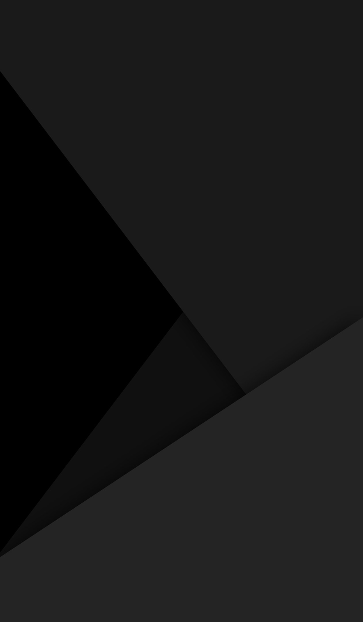 1262x2160 Black amoled Material design wallpaper
