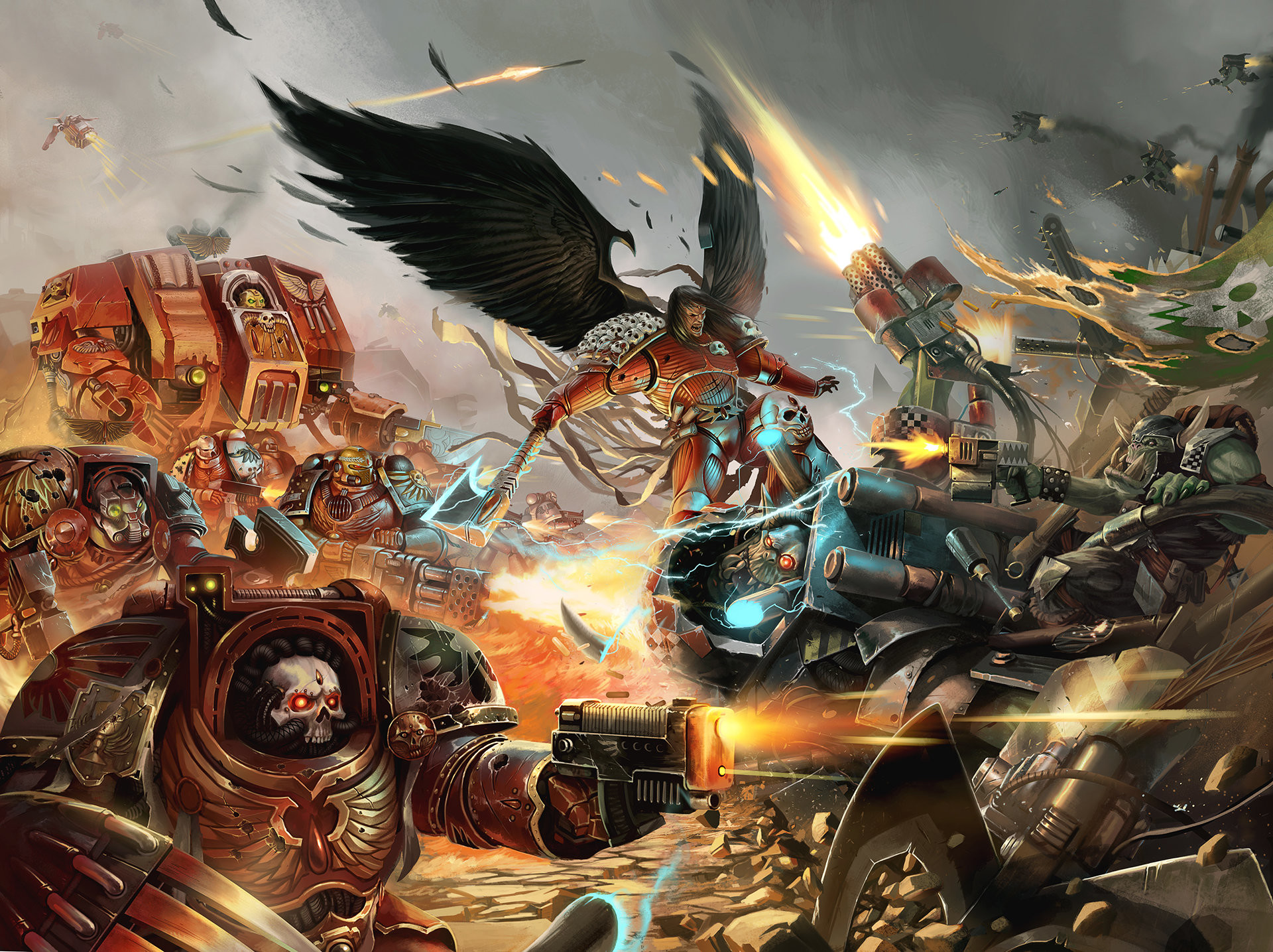 Warhammer 40k death company wallpaper - 1920x1080 Warhammer 40k Wallpaper 1920x1080 Warhammer 40k Space Marines Dawn