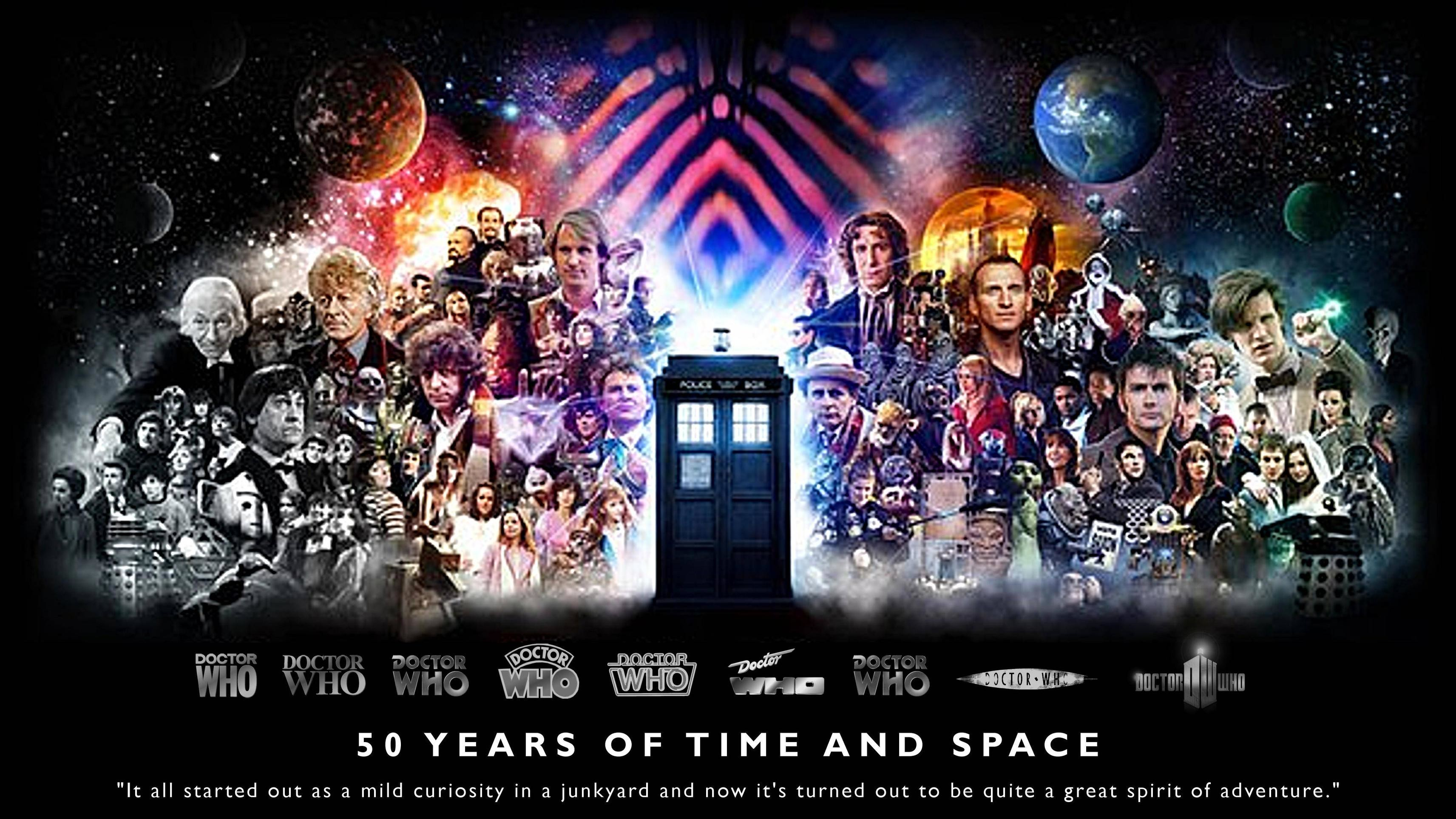 3425x1926 Doctor Who 50th Anniversary!