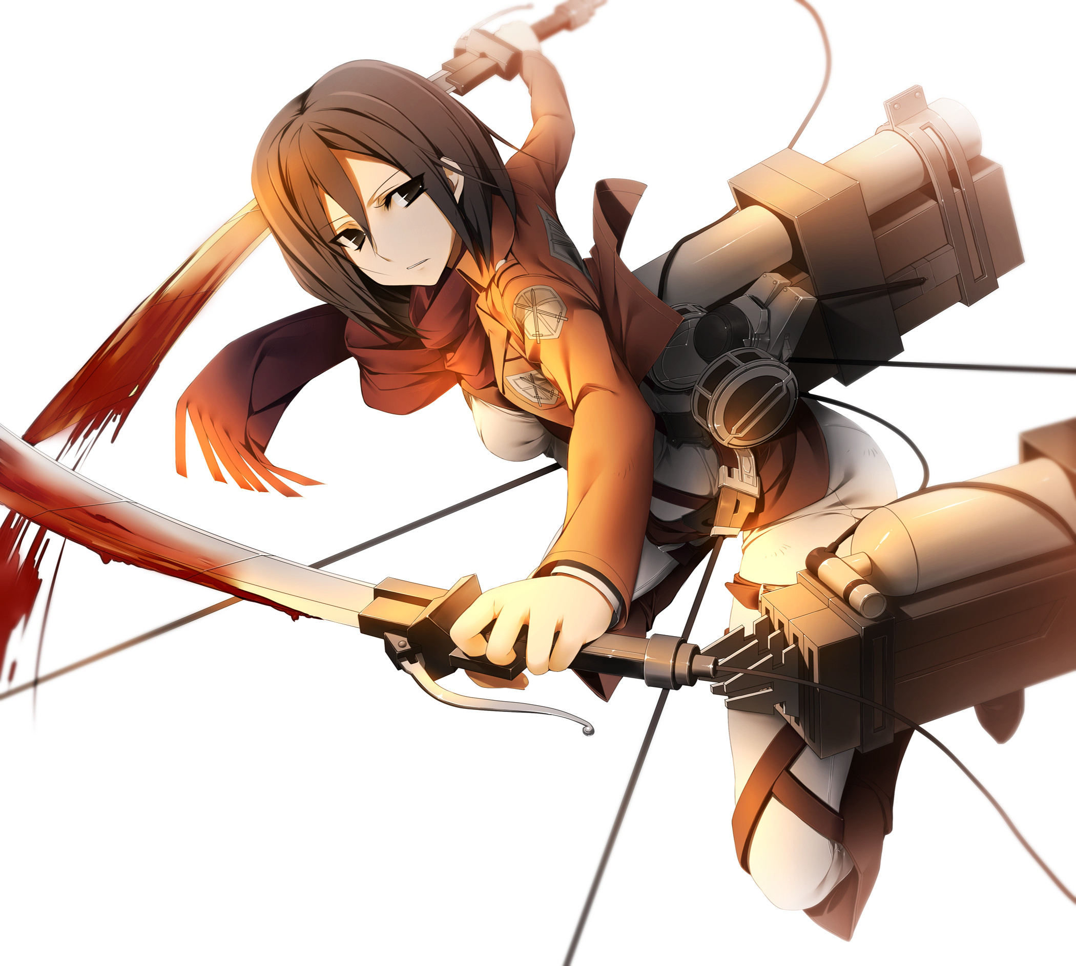 2100x1886 Anime Attack On Titan Mikasa Ackerman Wallpaper