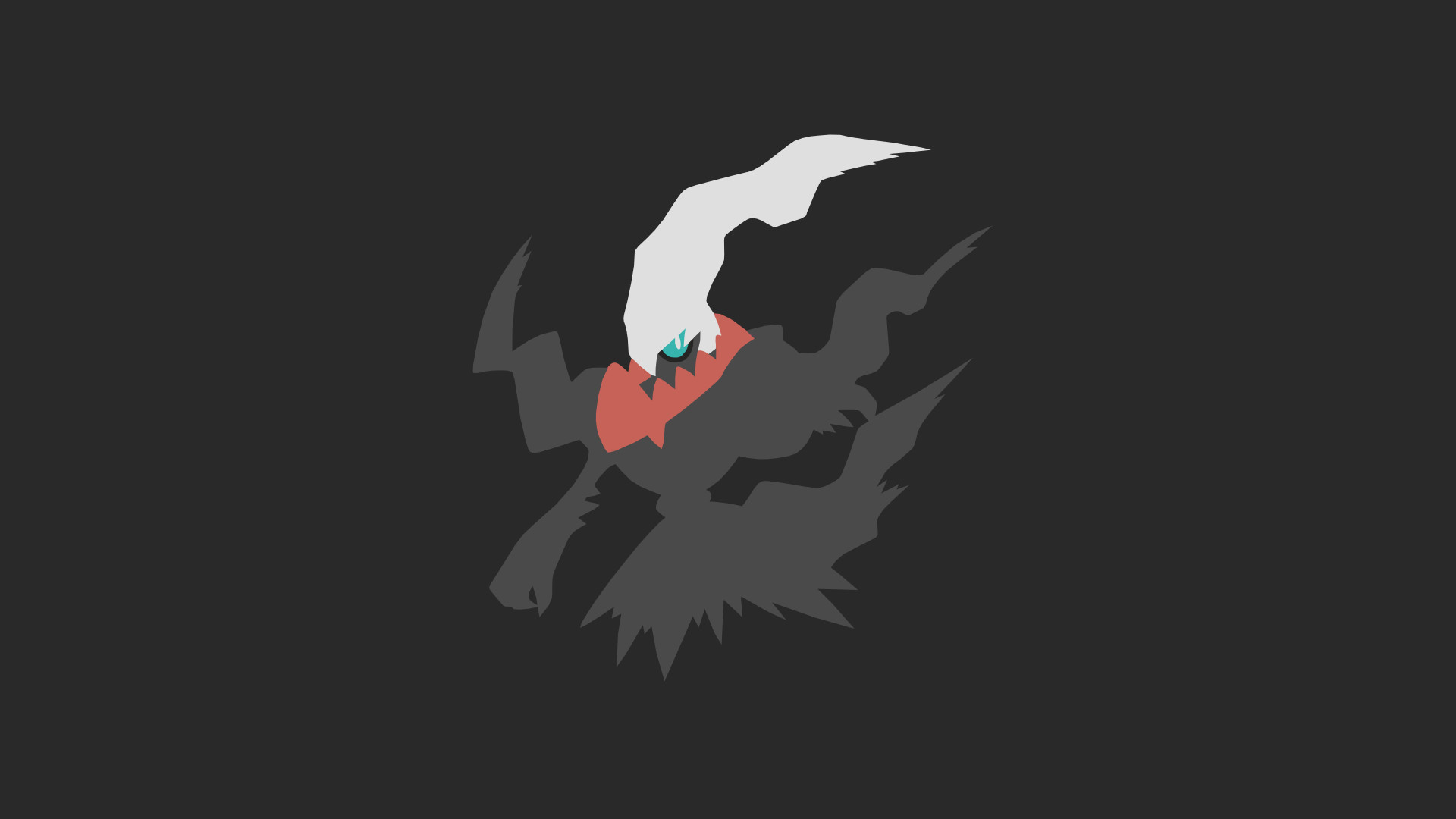 1920x1080 ... Minimalistic Wallpaper: Darkrai (#491) by MardGeerT