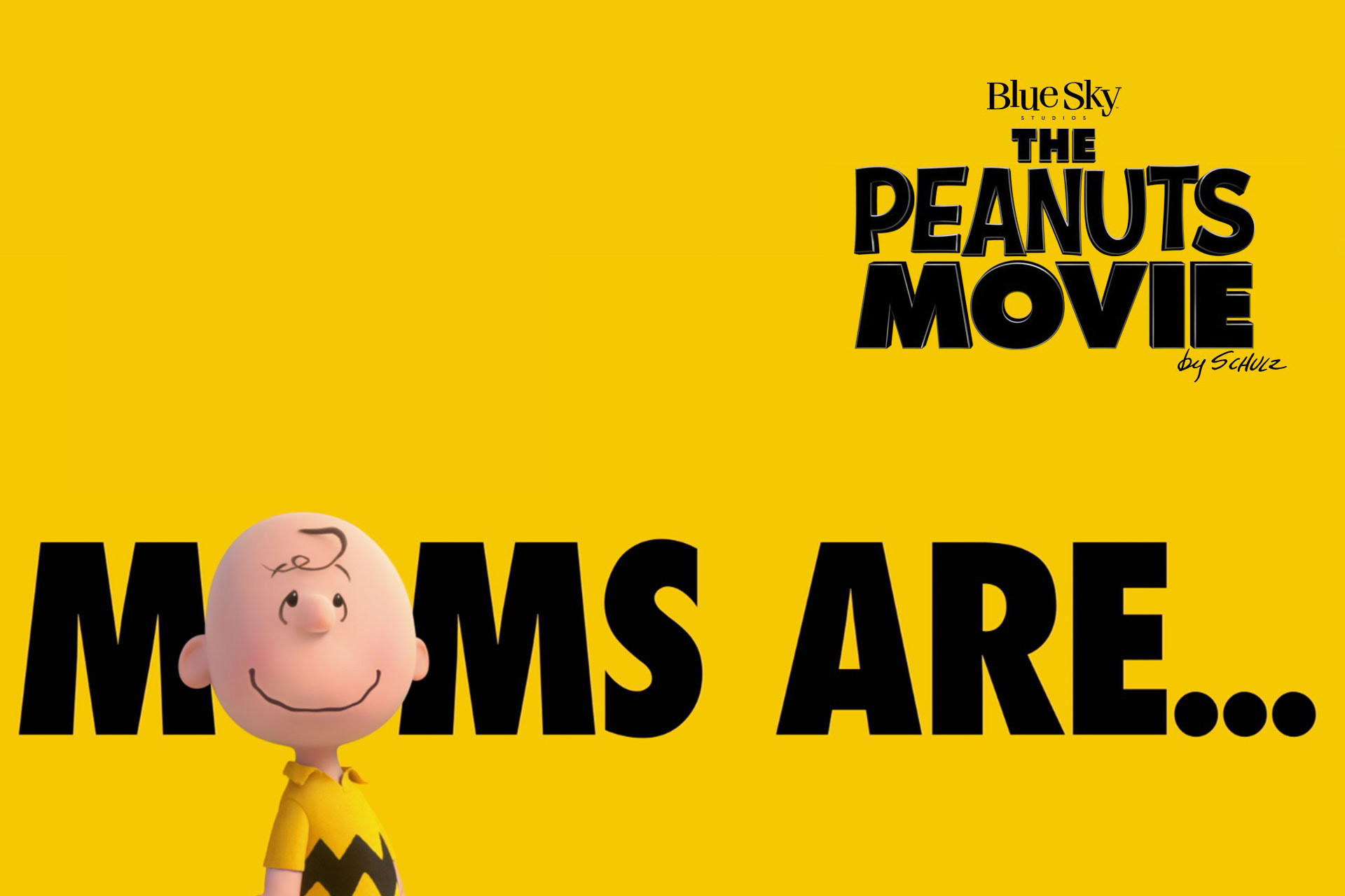 1920x1280 The Peanuts Movie HD wallpapers: Charlie Brown. Moms are.