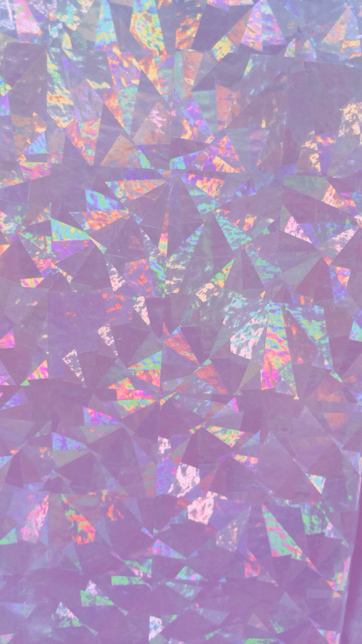 1242x2208 Iridescent Holographic Wallpaper, iPhone, Android, HD, Background, Pink,  Purple,