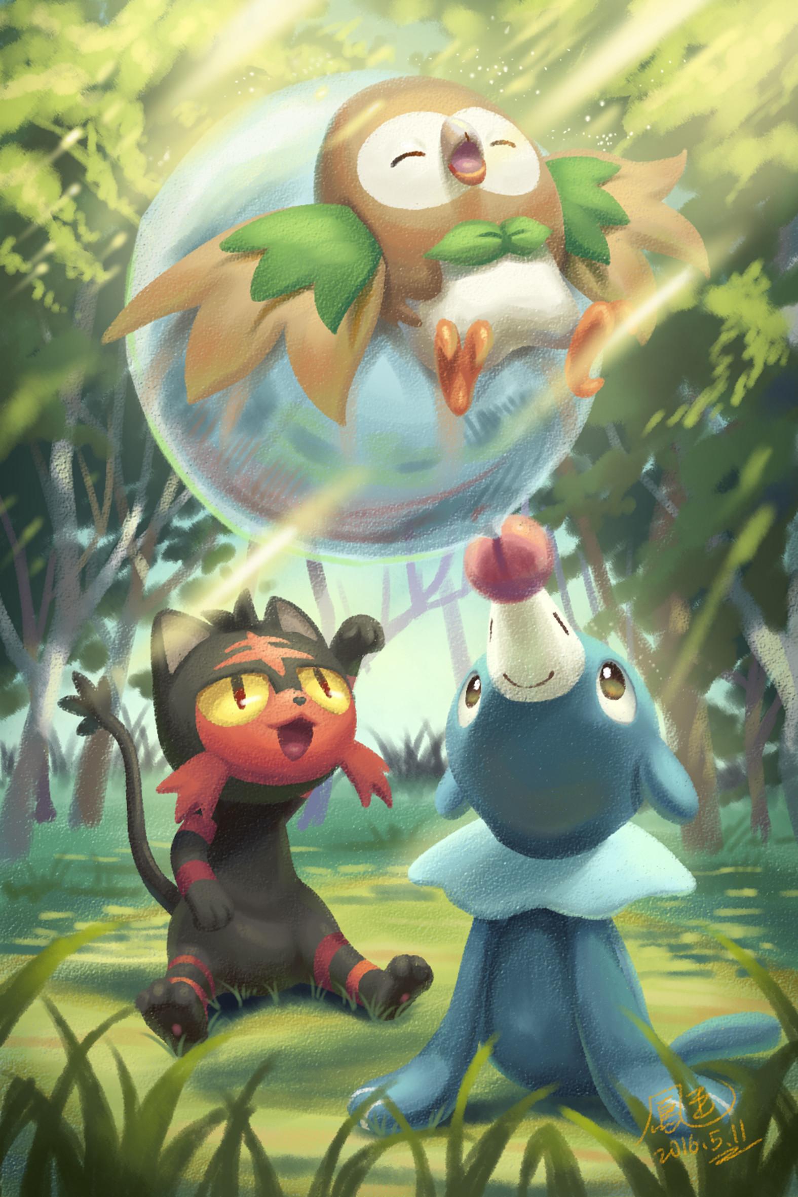 Pokemon Starters Wallpaper - WallpaperSafari |Starter Pokemon Phone Wallpaper