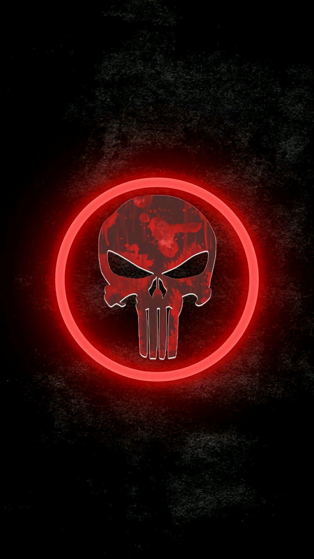 Punisher Skull Iphone Wallpaper 82 Images