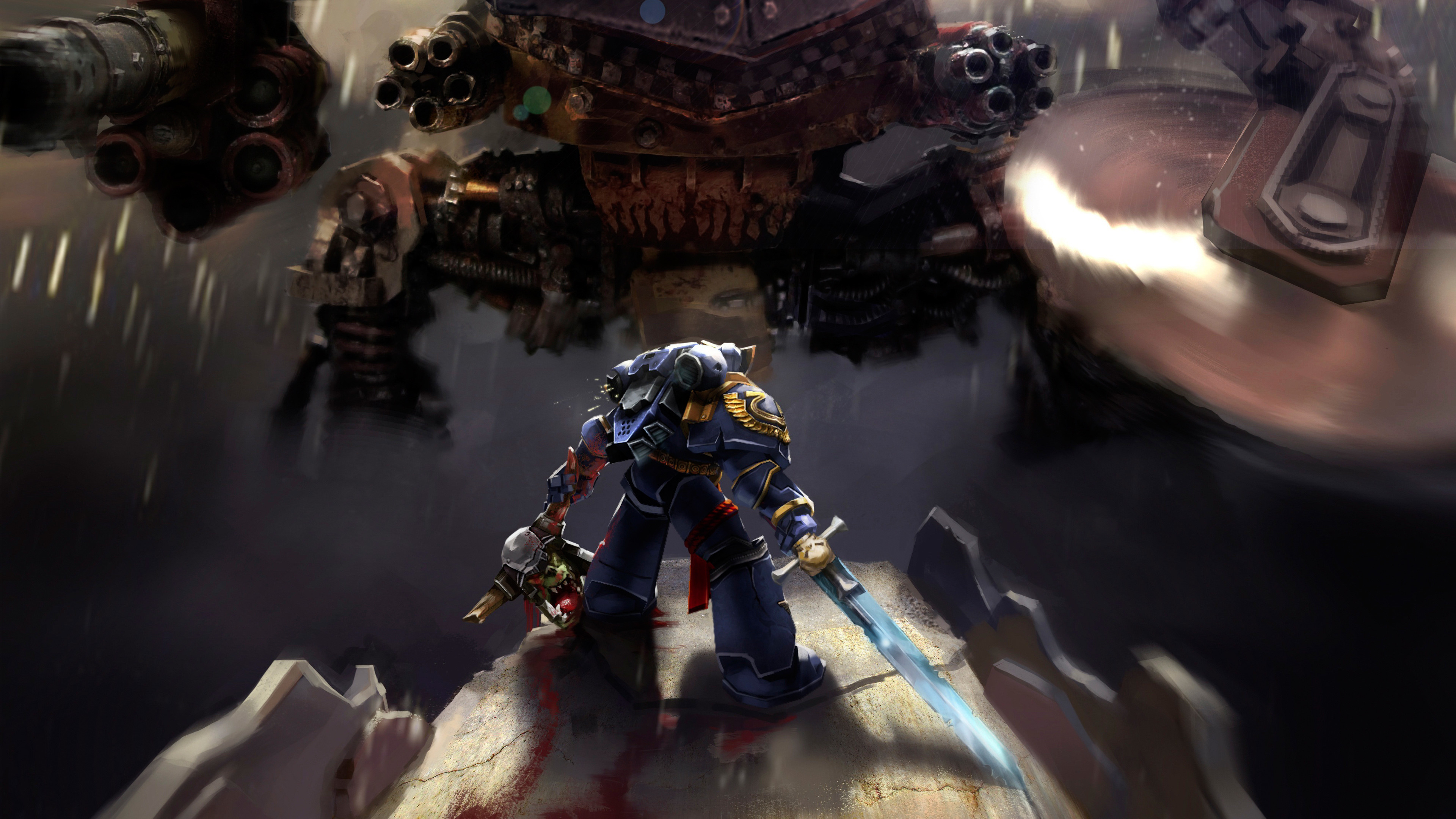 3840x2160 40k space marines hd wallpapers -#main