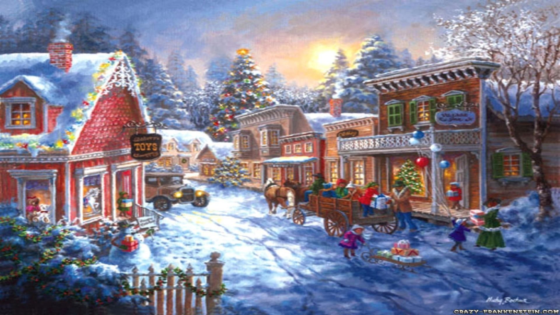 Christmas Village Background Ideas Making and How to Make ...