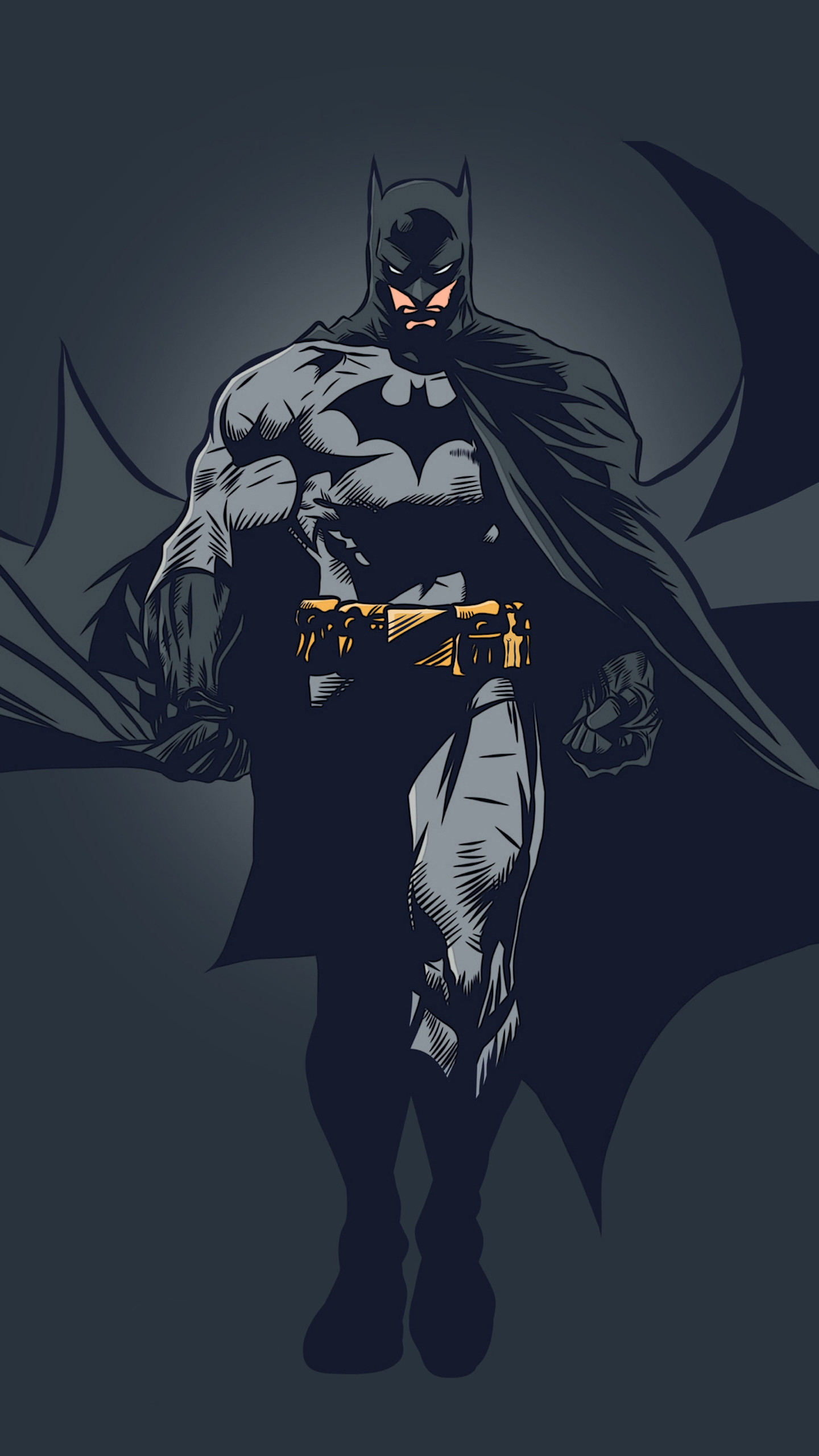 1920x1080 Simple Background Batman Blo0p DC Comics Joker Minimalism