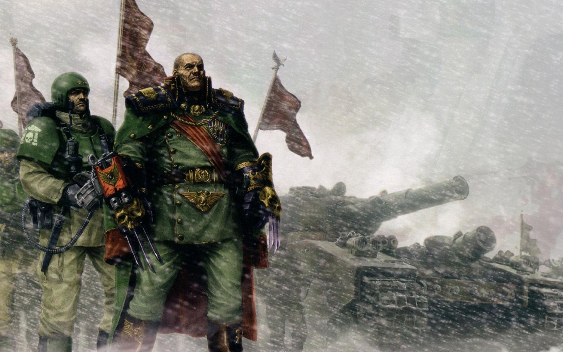 1920x1200 Imperial Guard Warhammer Wallpaper » WallDevil - Best free HD desktop .