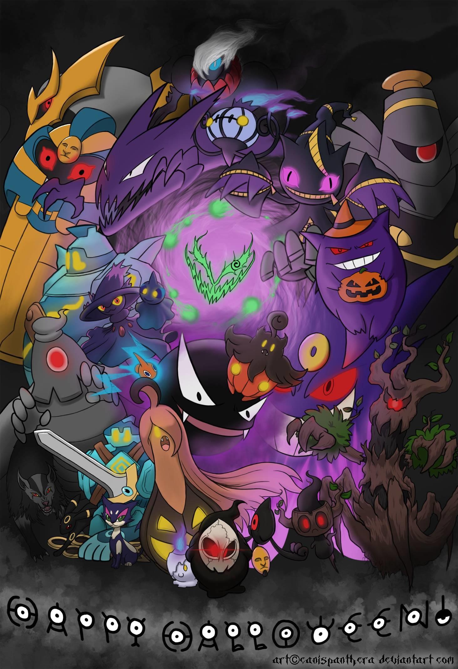 Ghost Pokemon Wallpaper (72+ images)