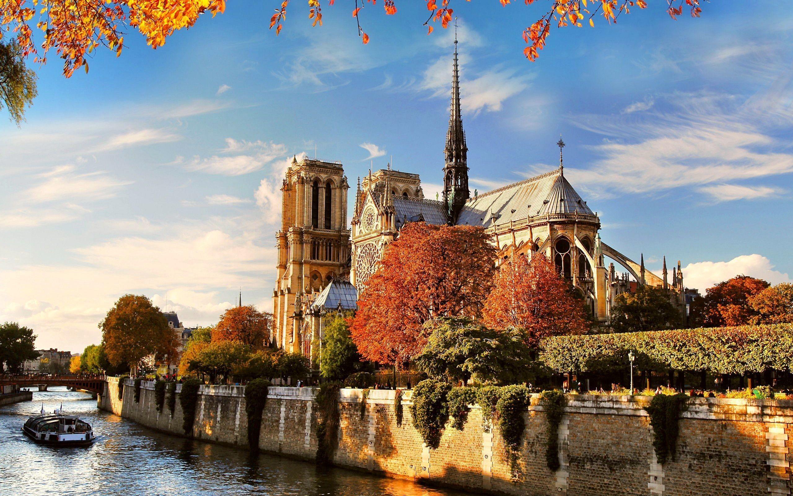 Notre Dame Wallpaper 70 Images