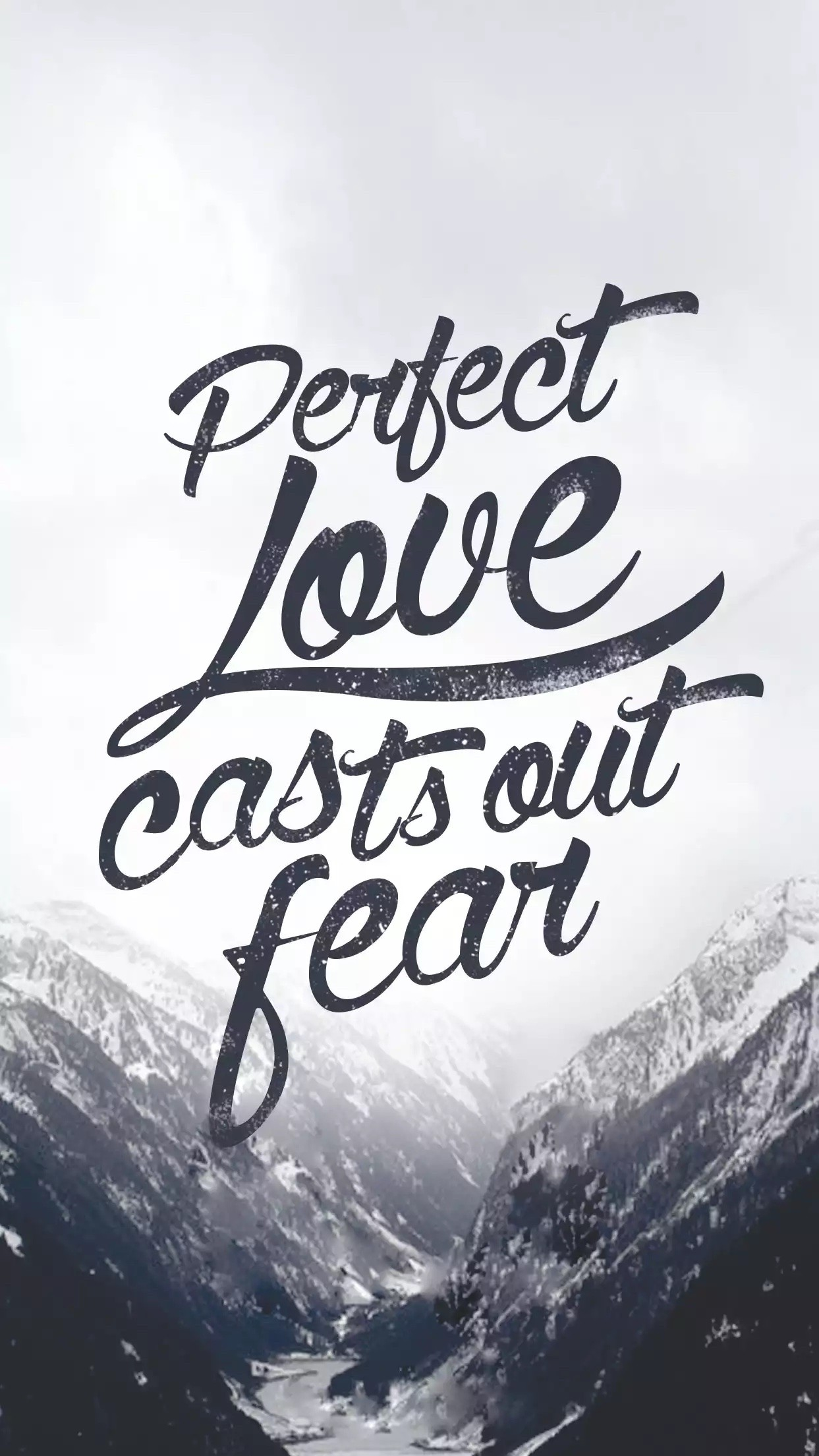 1243x2209 1 John love casts out all fear/Bible verse/Quote