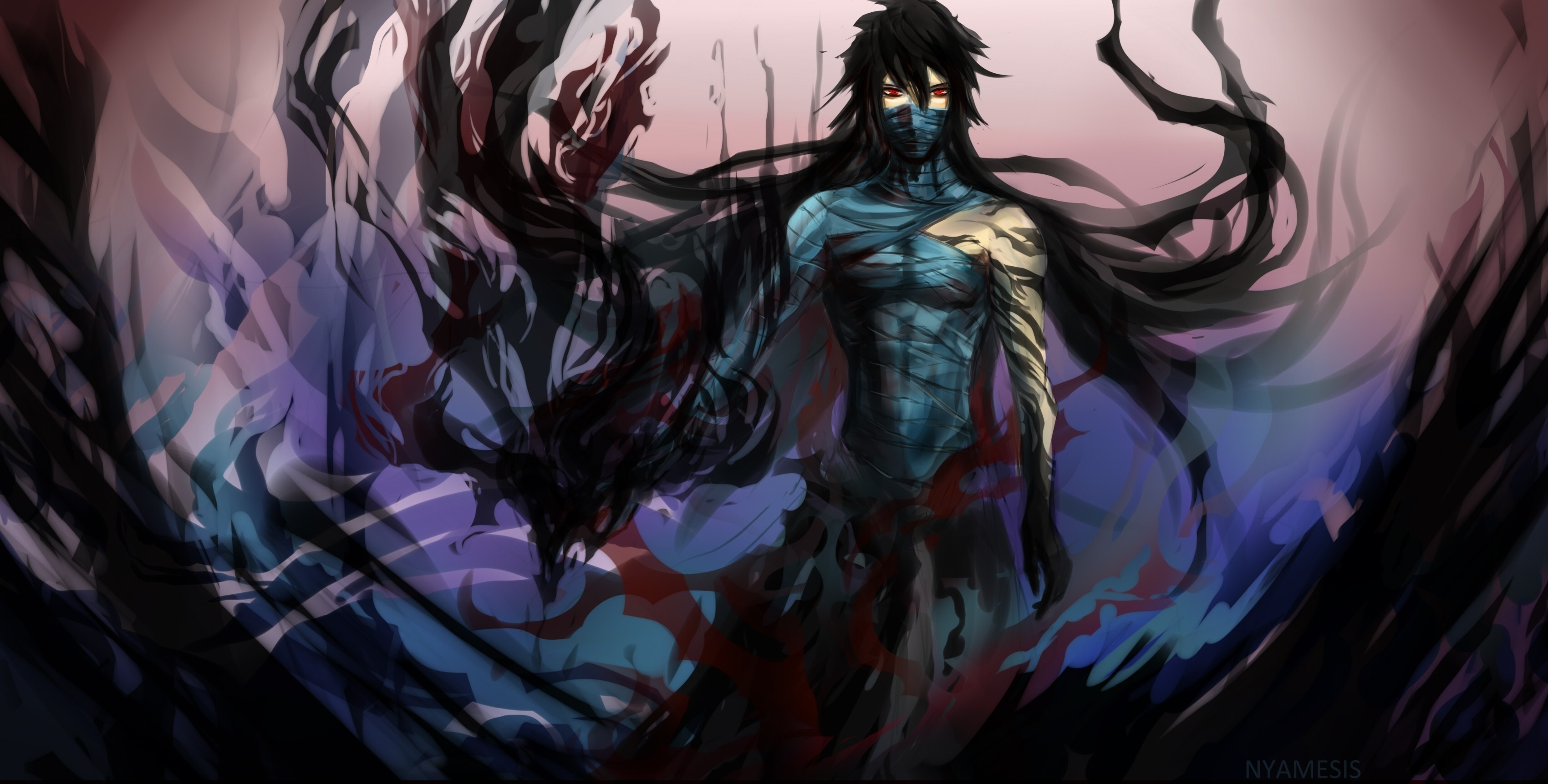 3400x1723 Explore Hd Picture, Wallpaper Art, and more! Image result for warrior anime  male
