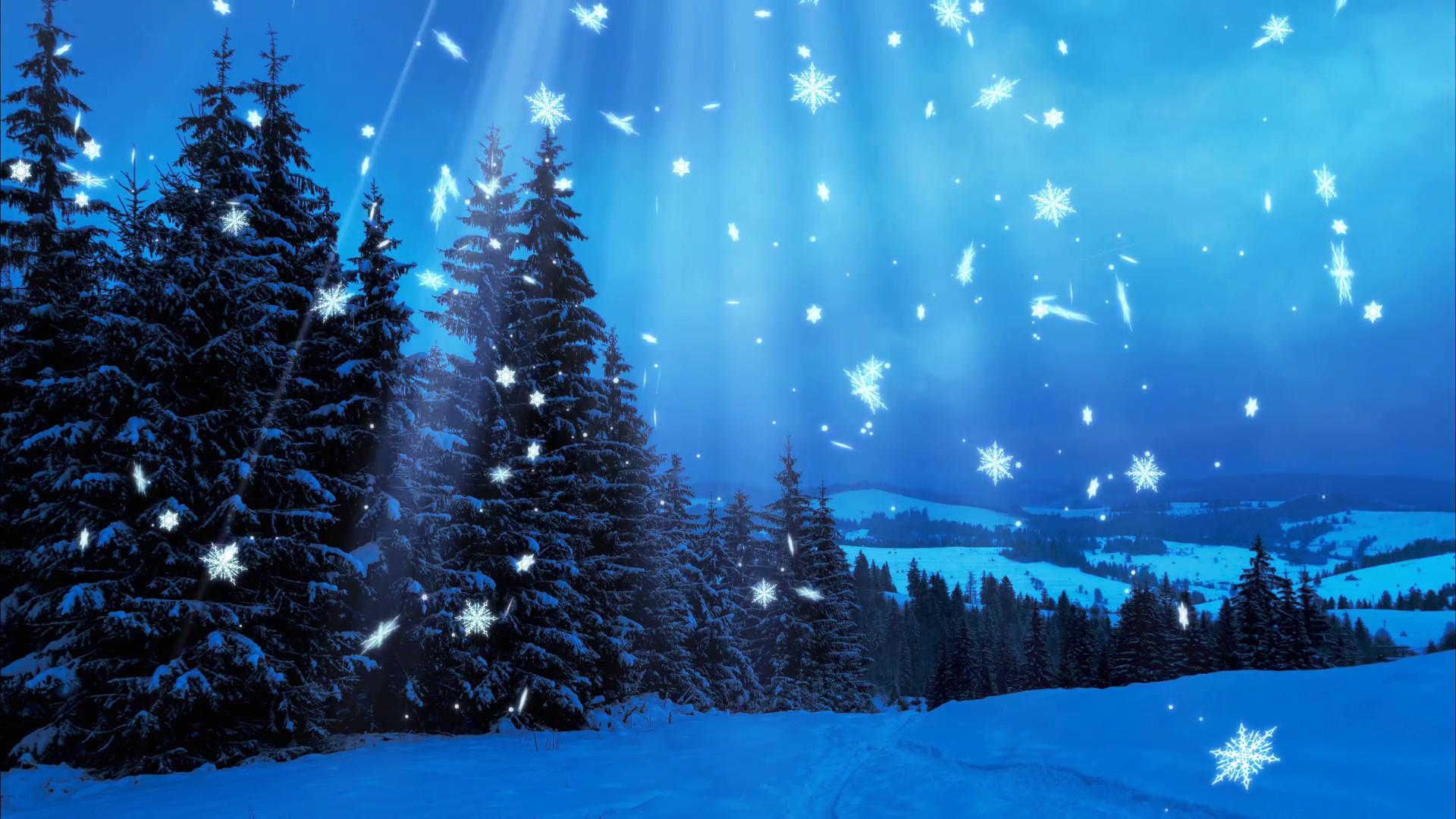 1920x1080 Happy New Year,Christmas,3d winter background 2017 Motion Background -  VideoBlocks
