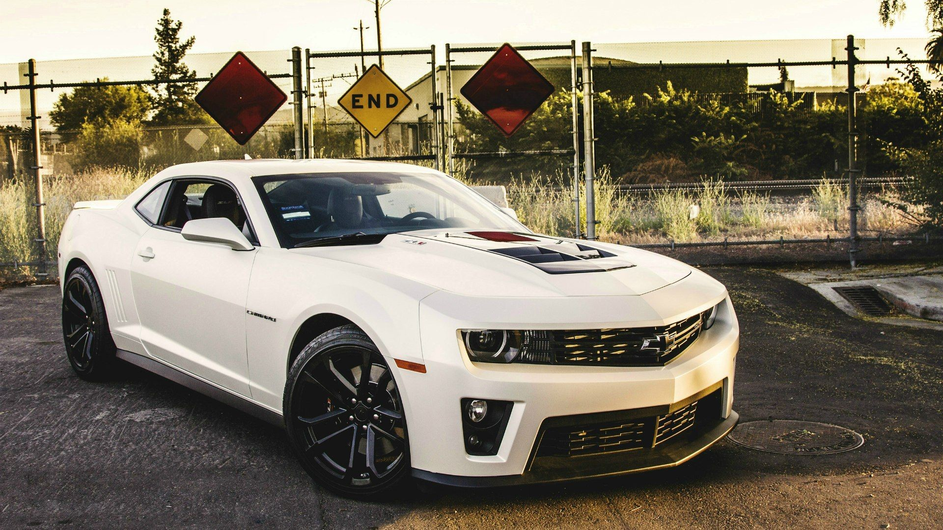 1920x1080 White Chevrolet Camaro ZL1 wallpapers and images - wallpapers .