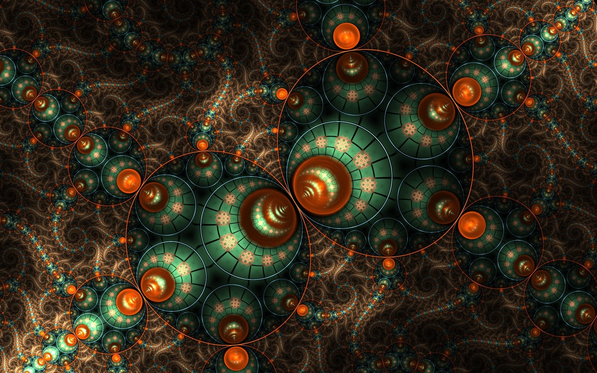 1920x1200 Straddle the Line Between Maths and Art with These Fractal Wallpapers