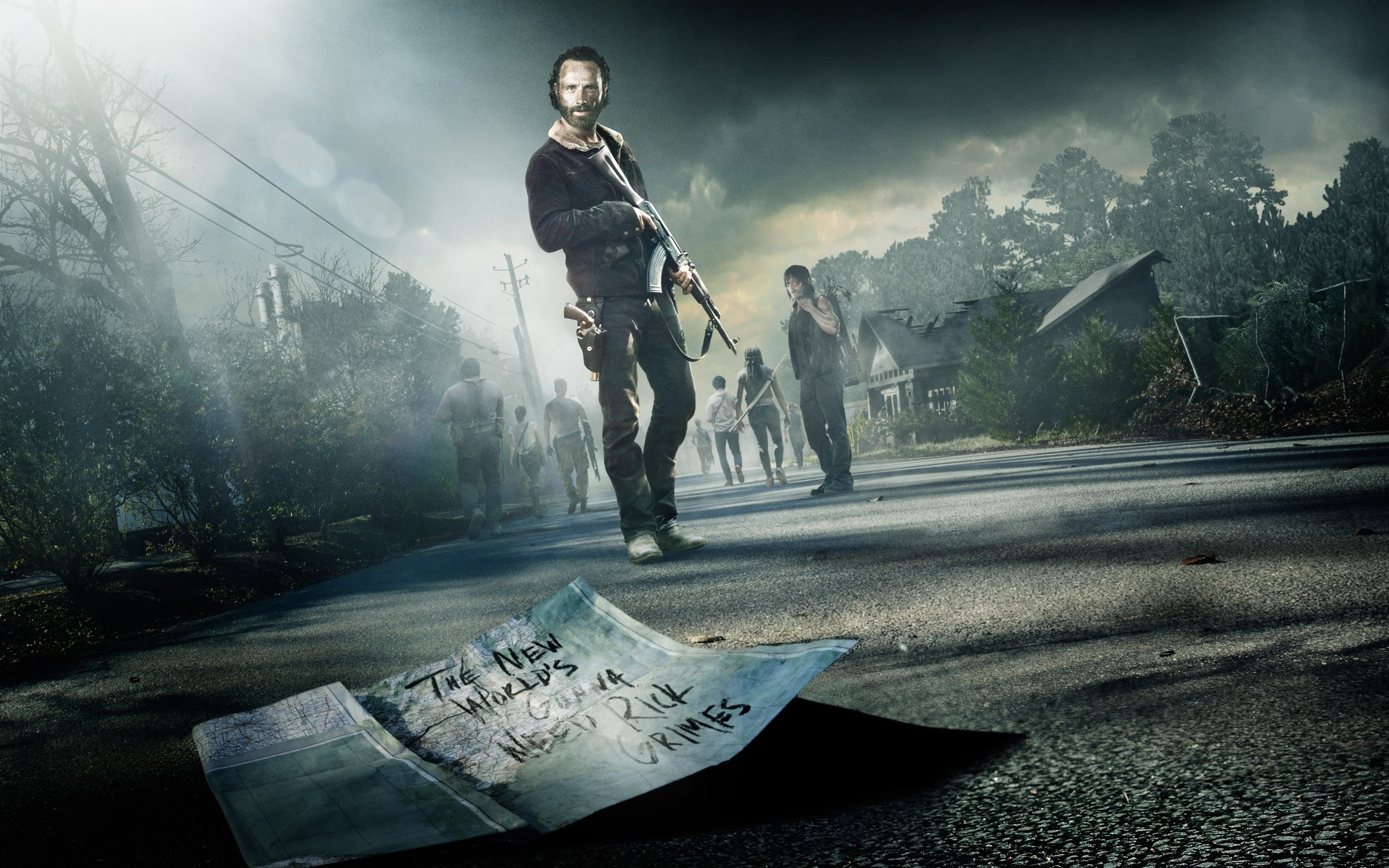 Wallpaper Of The Walking Dead 66 Images